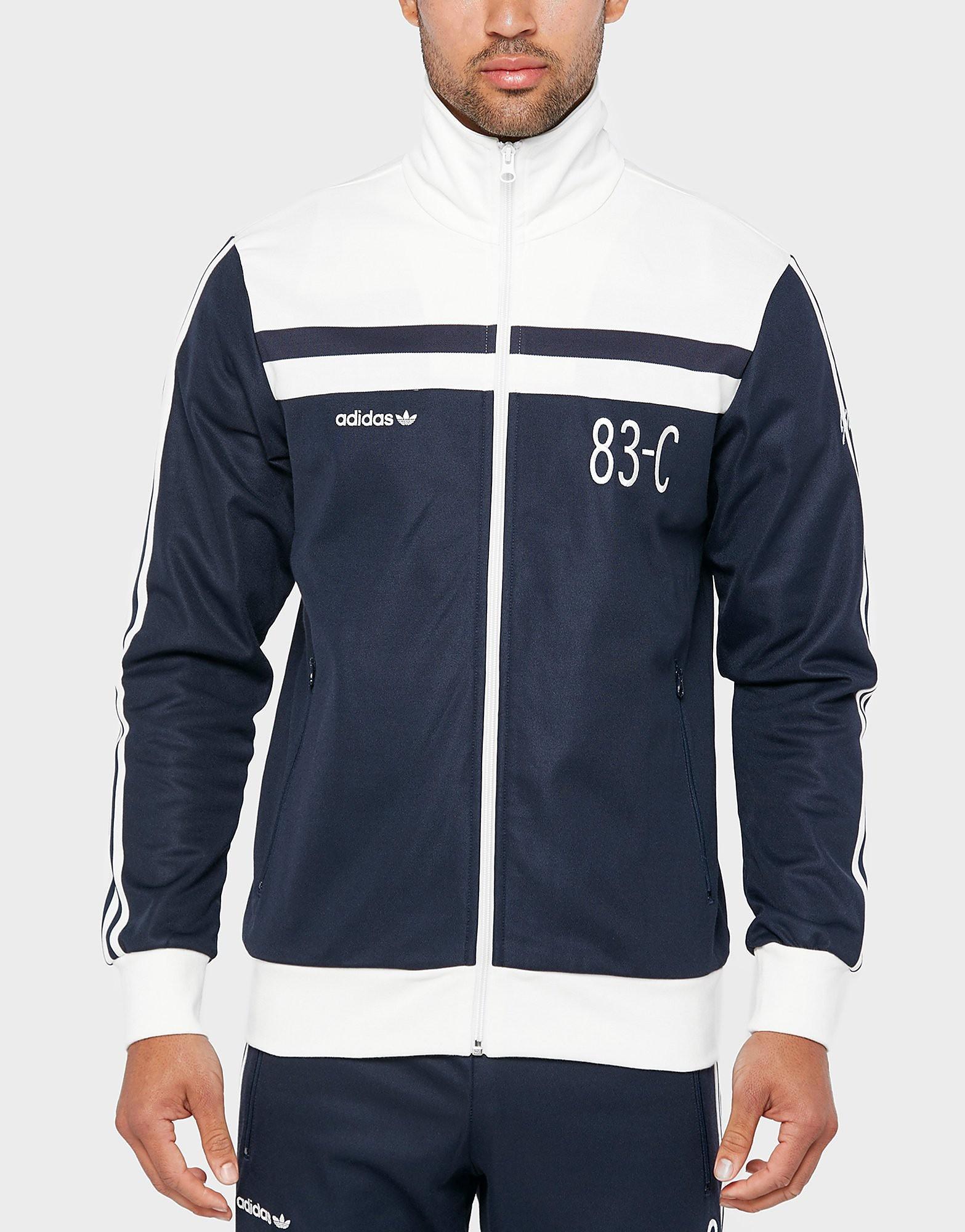 adidas Originals 83C Track Top  BlueWhite BlueWhite