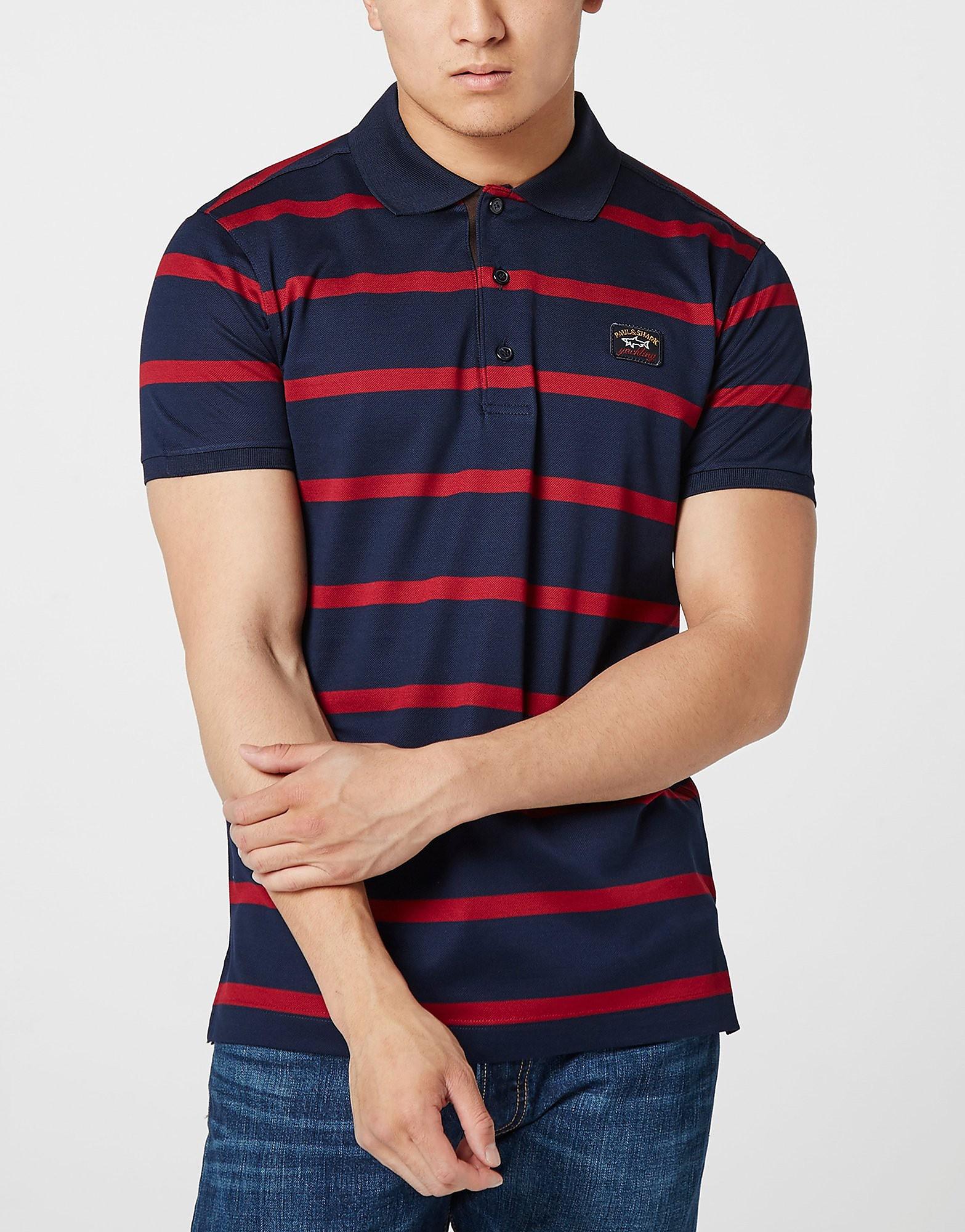 Paul and Shark Thin Stripe Polo Shirt