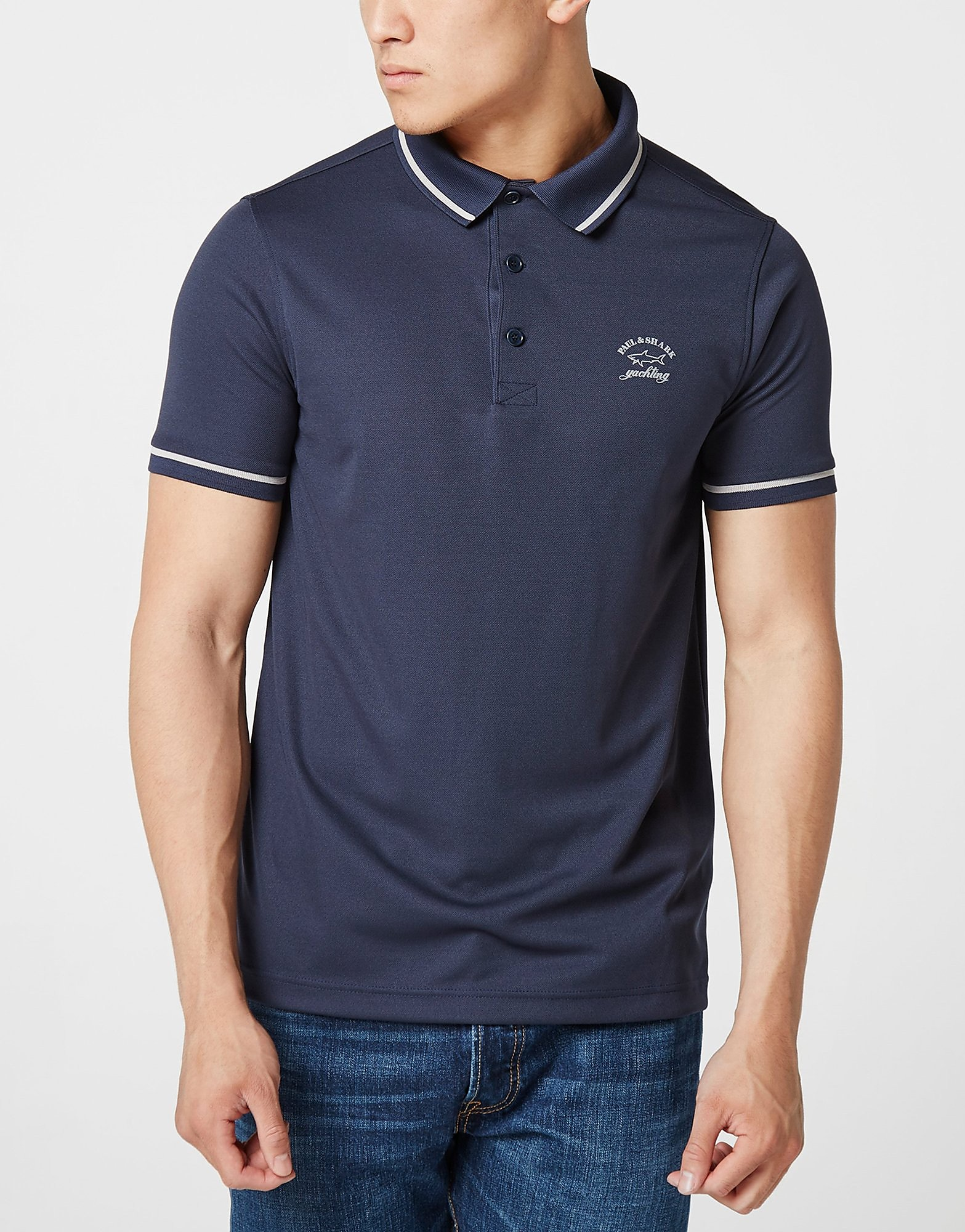 Paul and Shark Tip Birdeye Polo Shirt