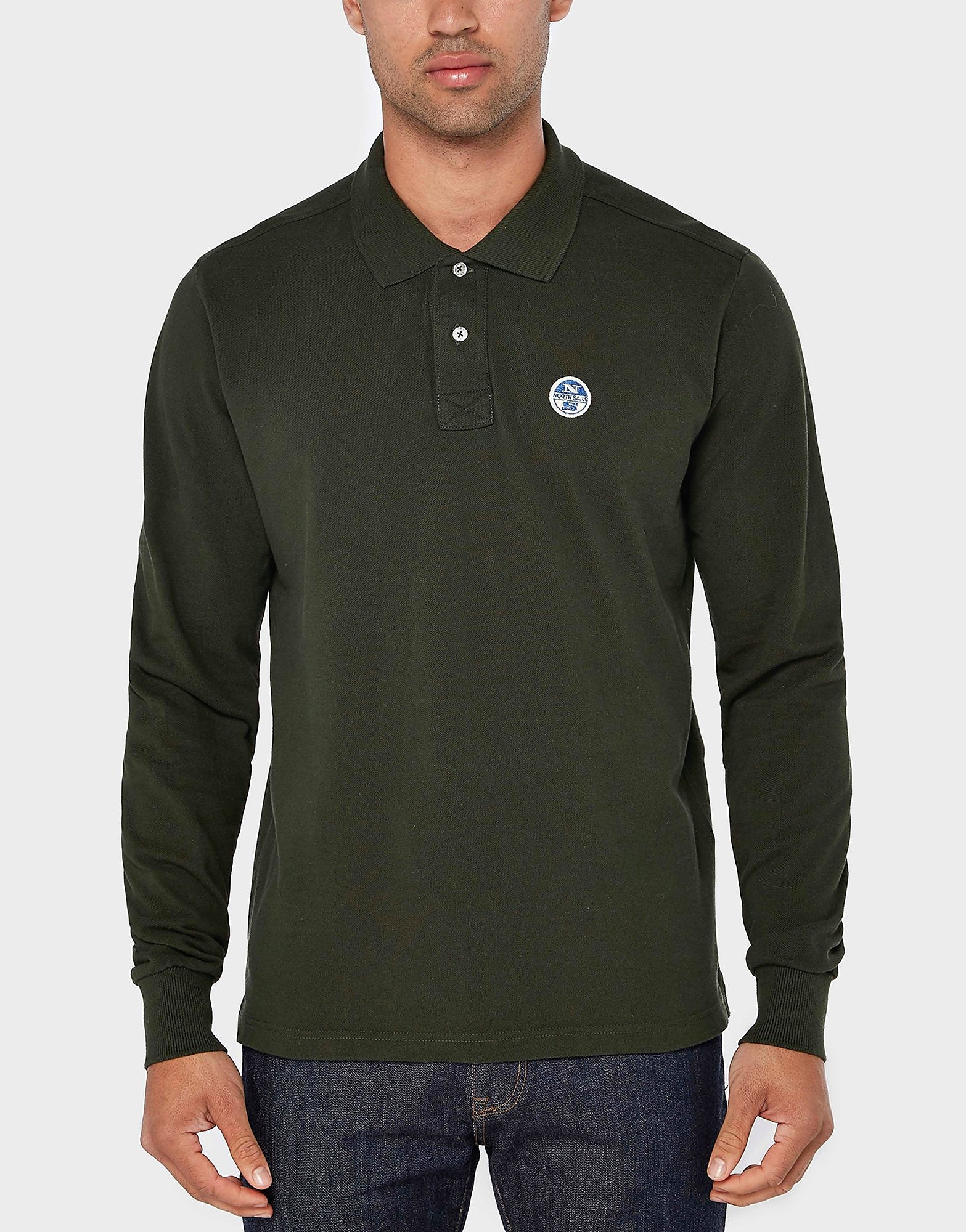NORTH SAILS Pierre Long Sleeve Polo Shirt