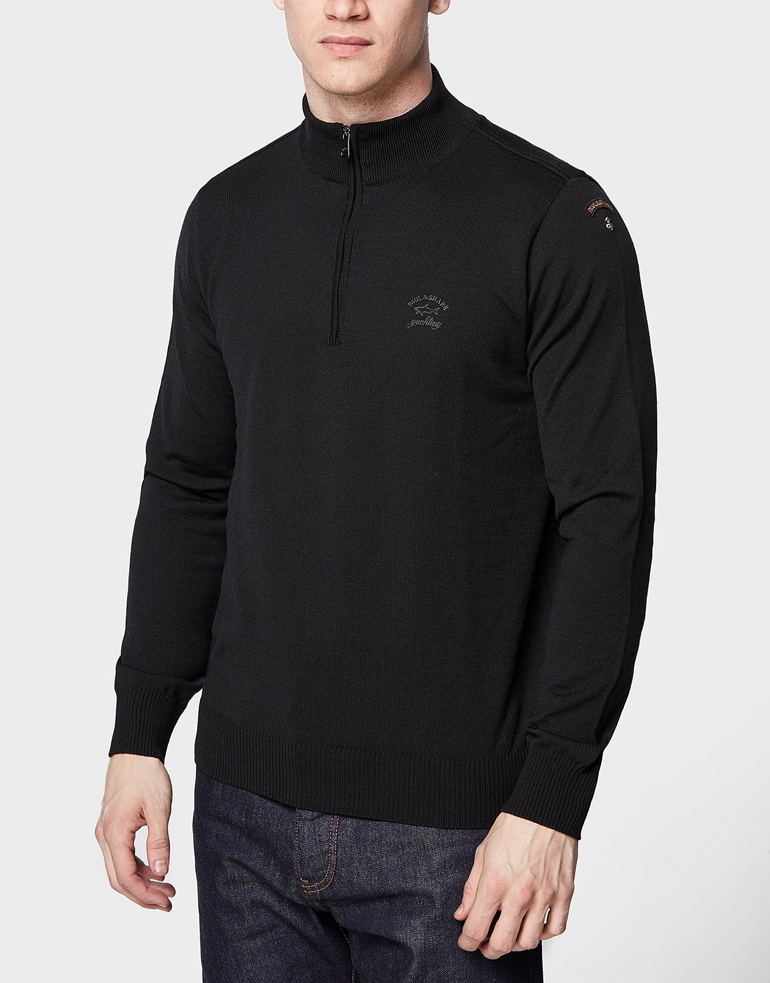 Paul and Shark Half-Zip Knit