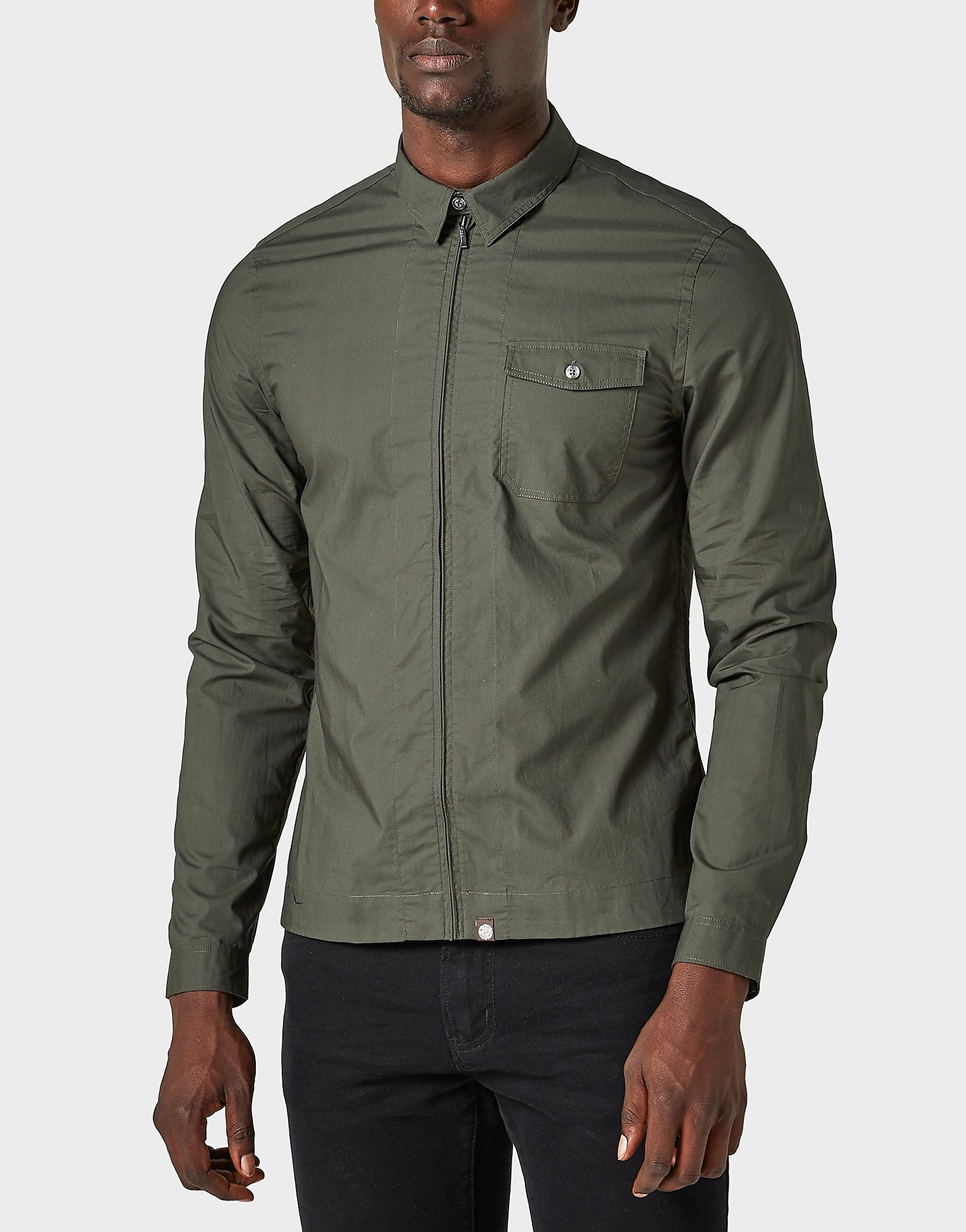 Pretty Green Zip Shirt - Exclusive