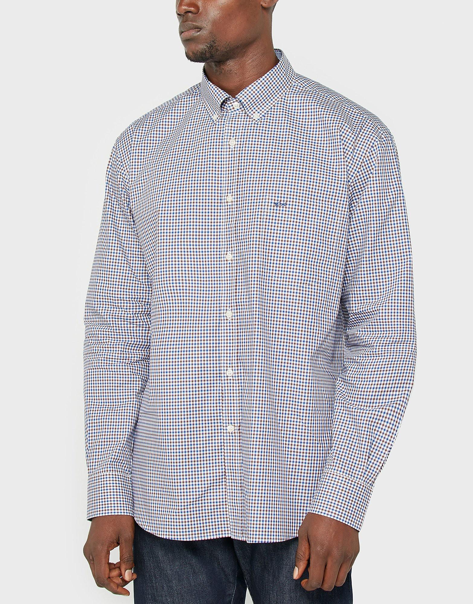 Paul and Shark Gingham Shirt