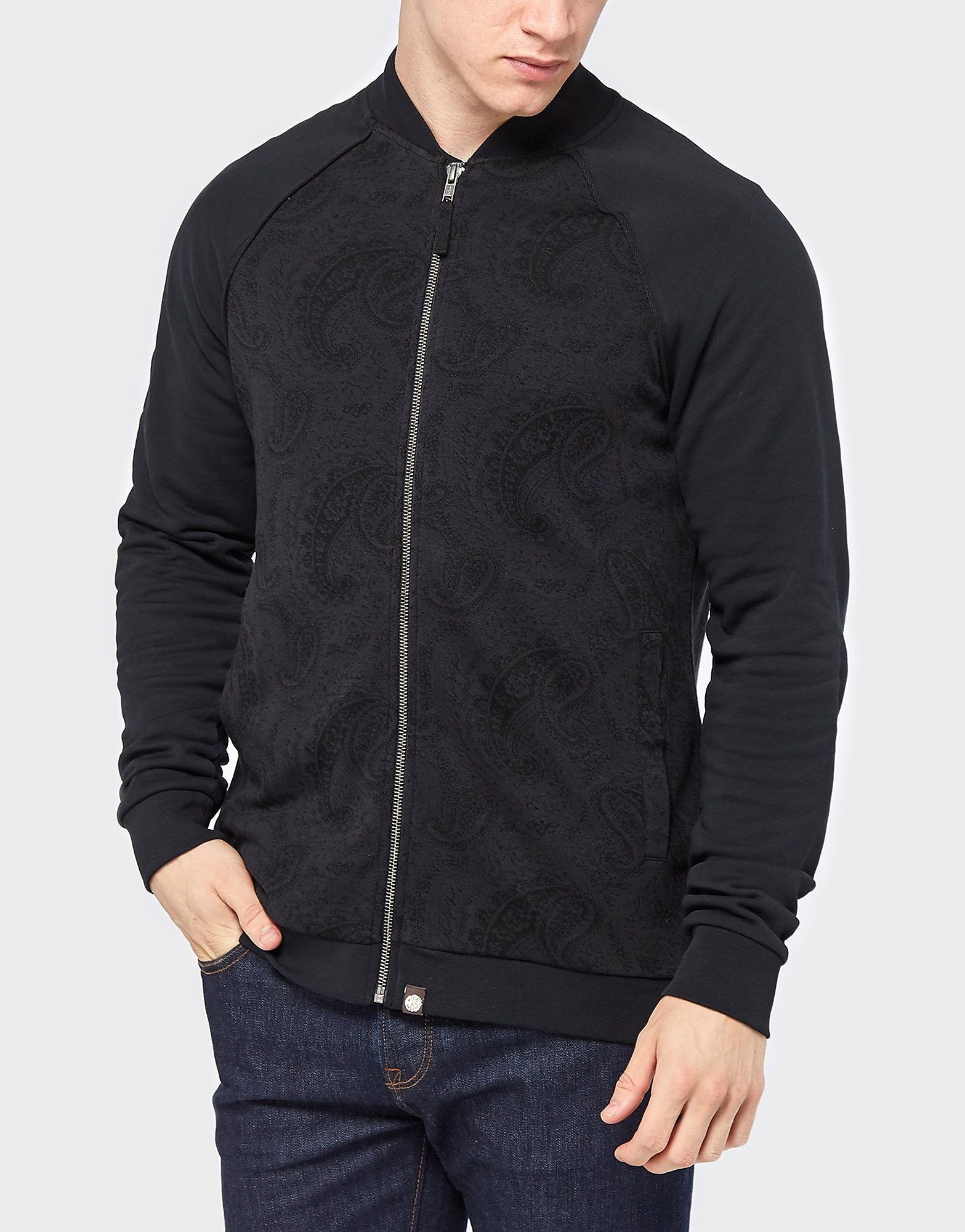 Pretty Green Paisley Zip Through
