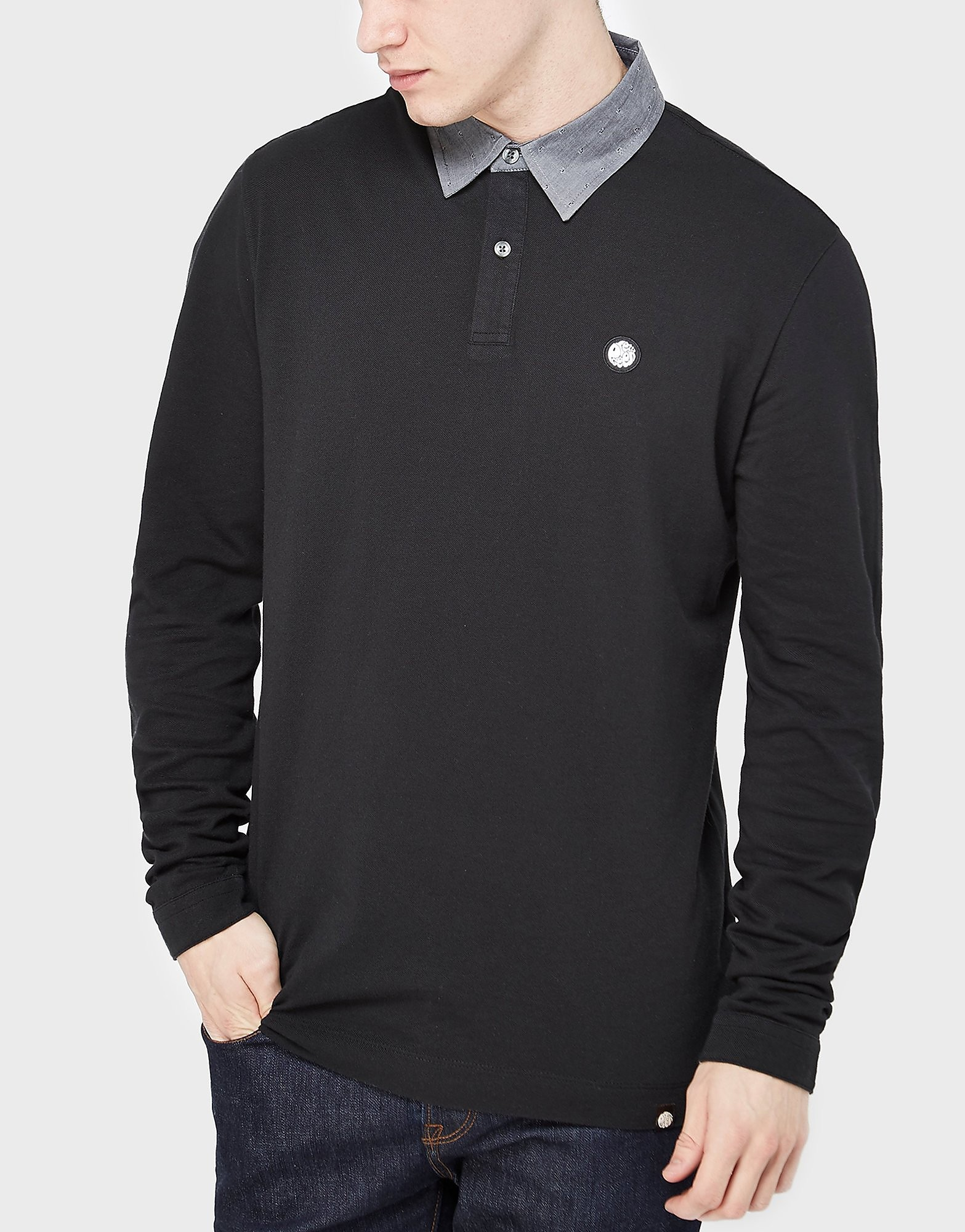 Pretty Green Long Sleeve Polo Shirt - Exclusive