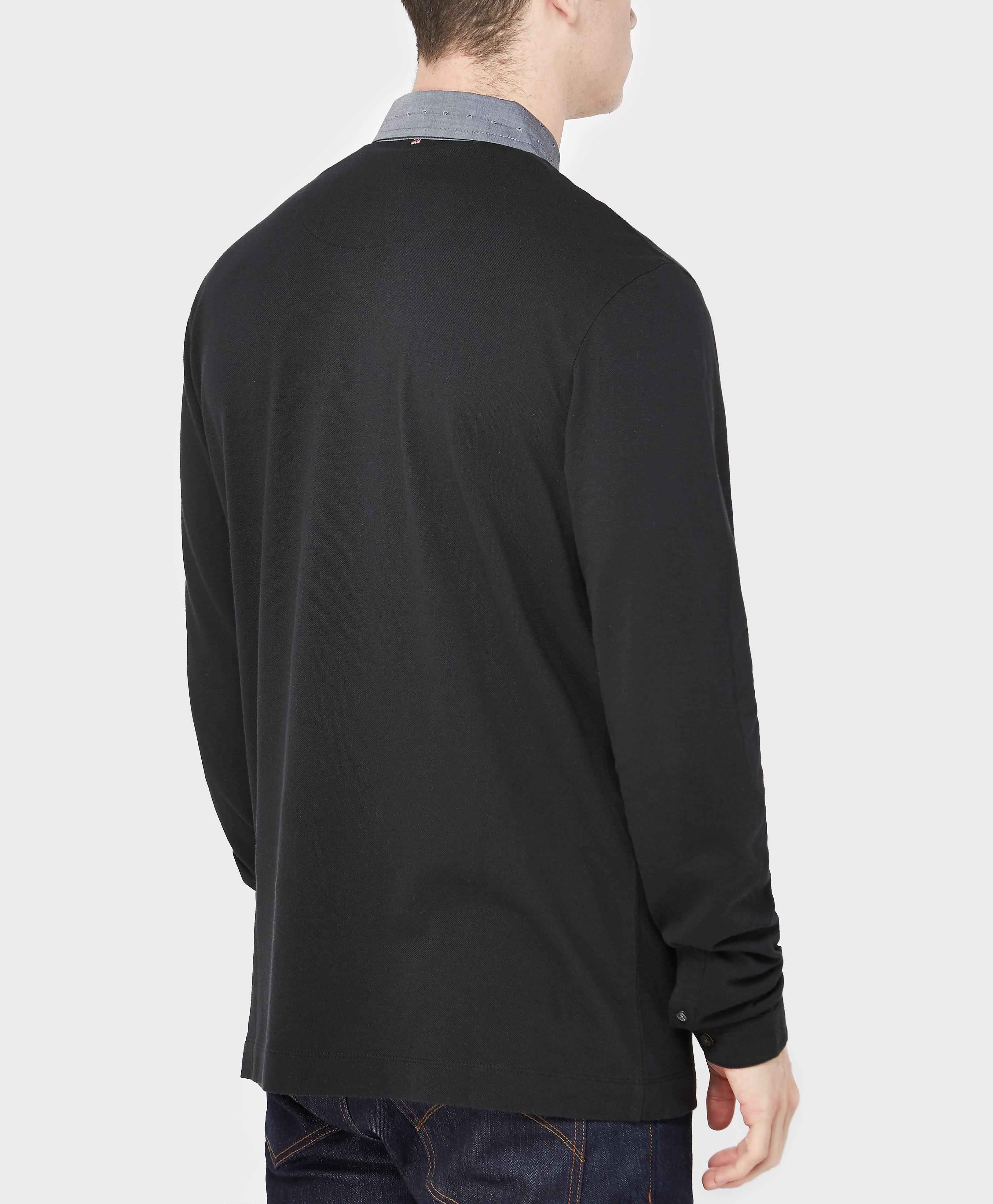 Pretty Green Long Sleeve Polo Shirt - Exclusive