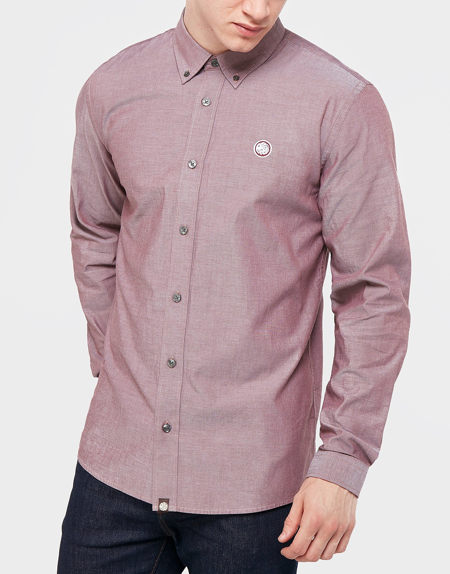 Pretty Green Oldbury Oxford Long Sleeve Shirt