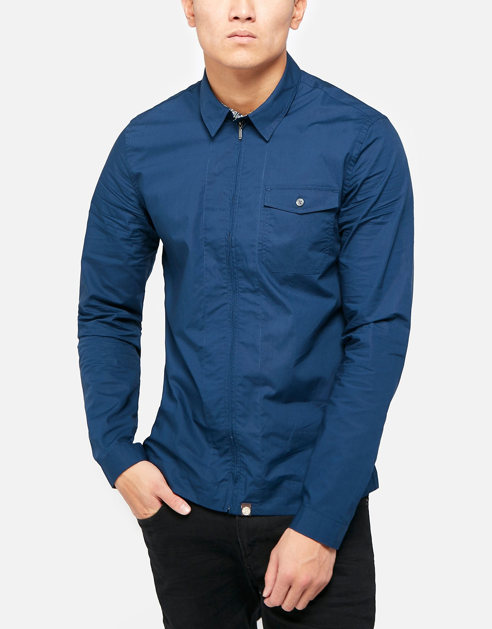 Pretty Green Zip Shirt