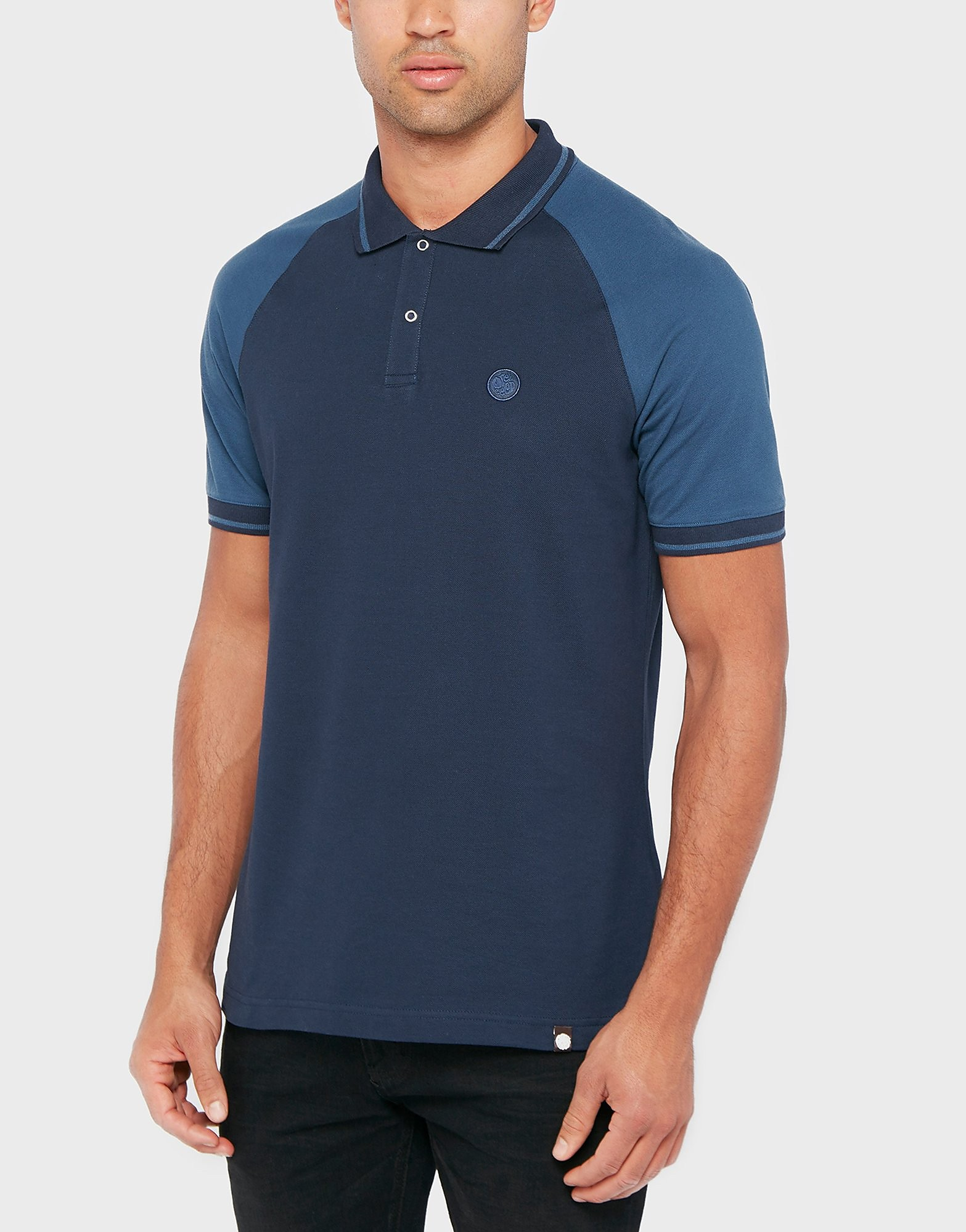 Pretty Green Wilton Raglan polo