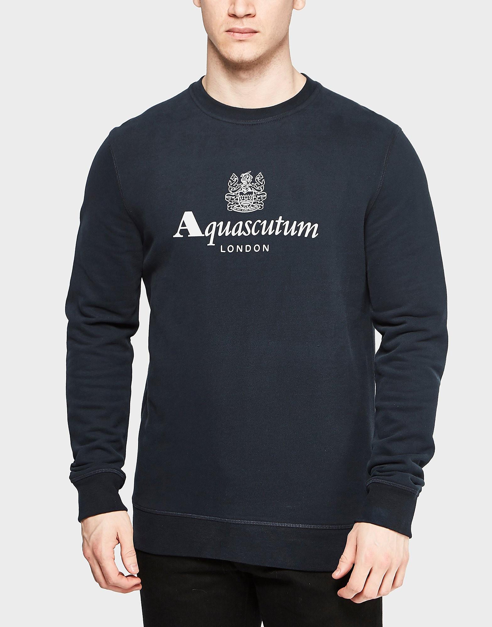 Aquascutum Henry Crew Neck Sweatshirt