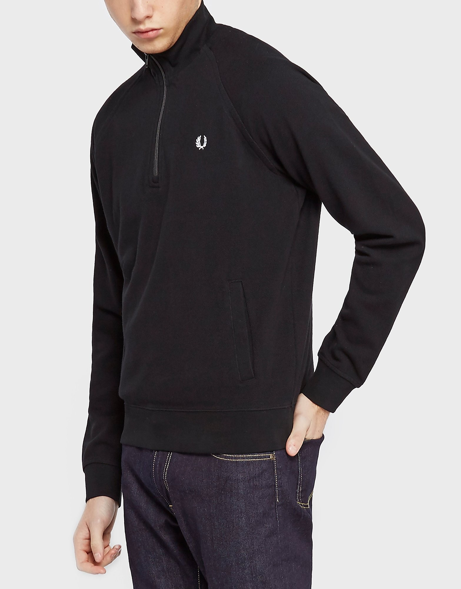 Fred Perry Half Zip Pique Knit