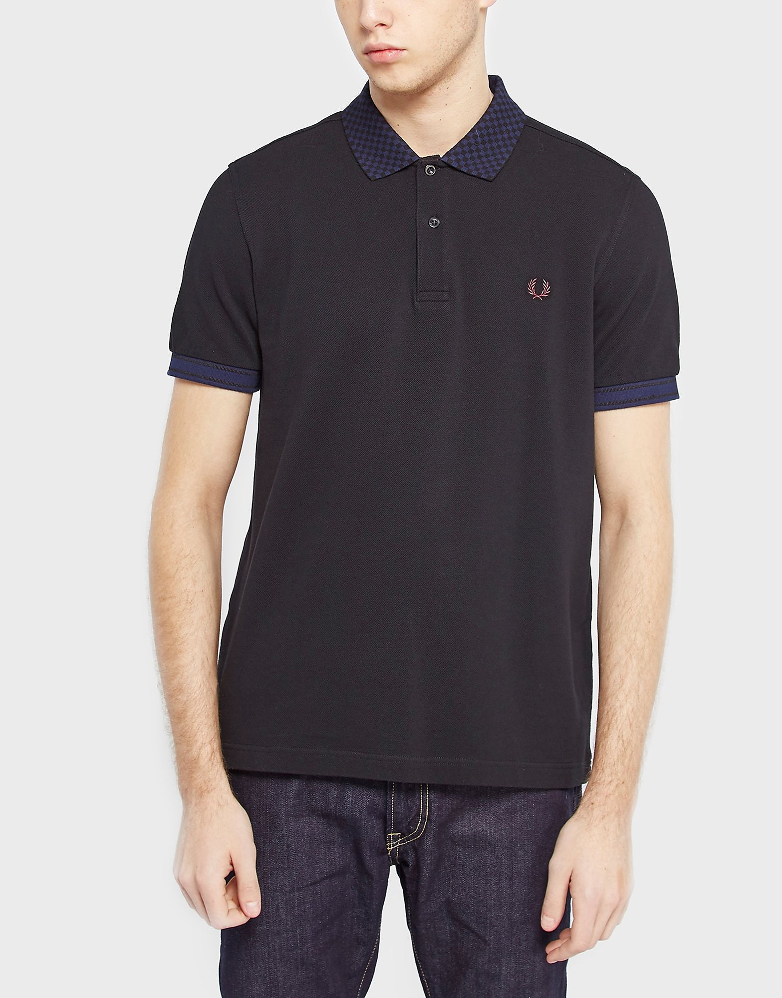 Fred Perry Checkerboard Collar Shirt