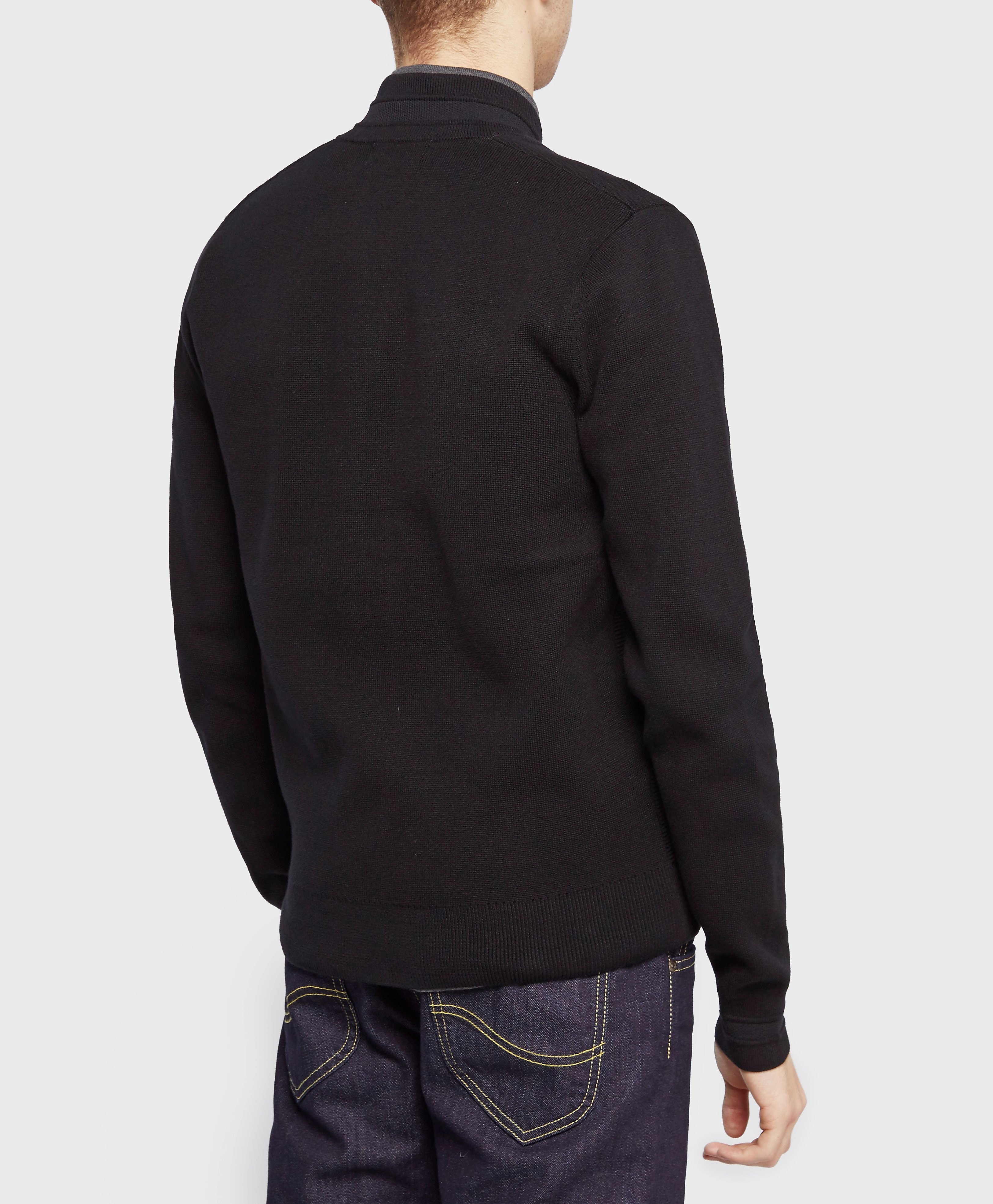 Fred Perry Knitted Bomber