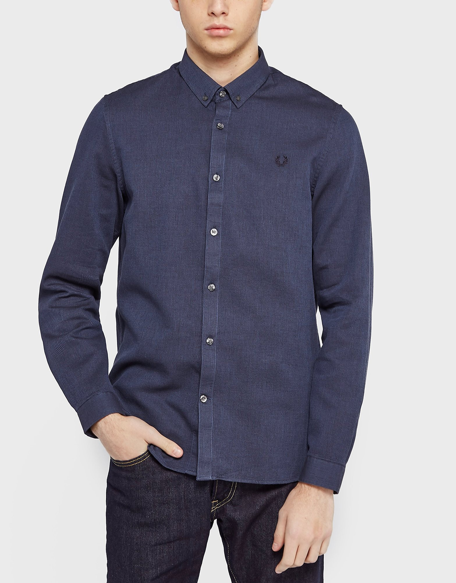 Fred Perry Waffle textured Shirt