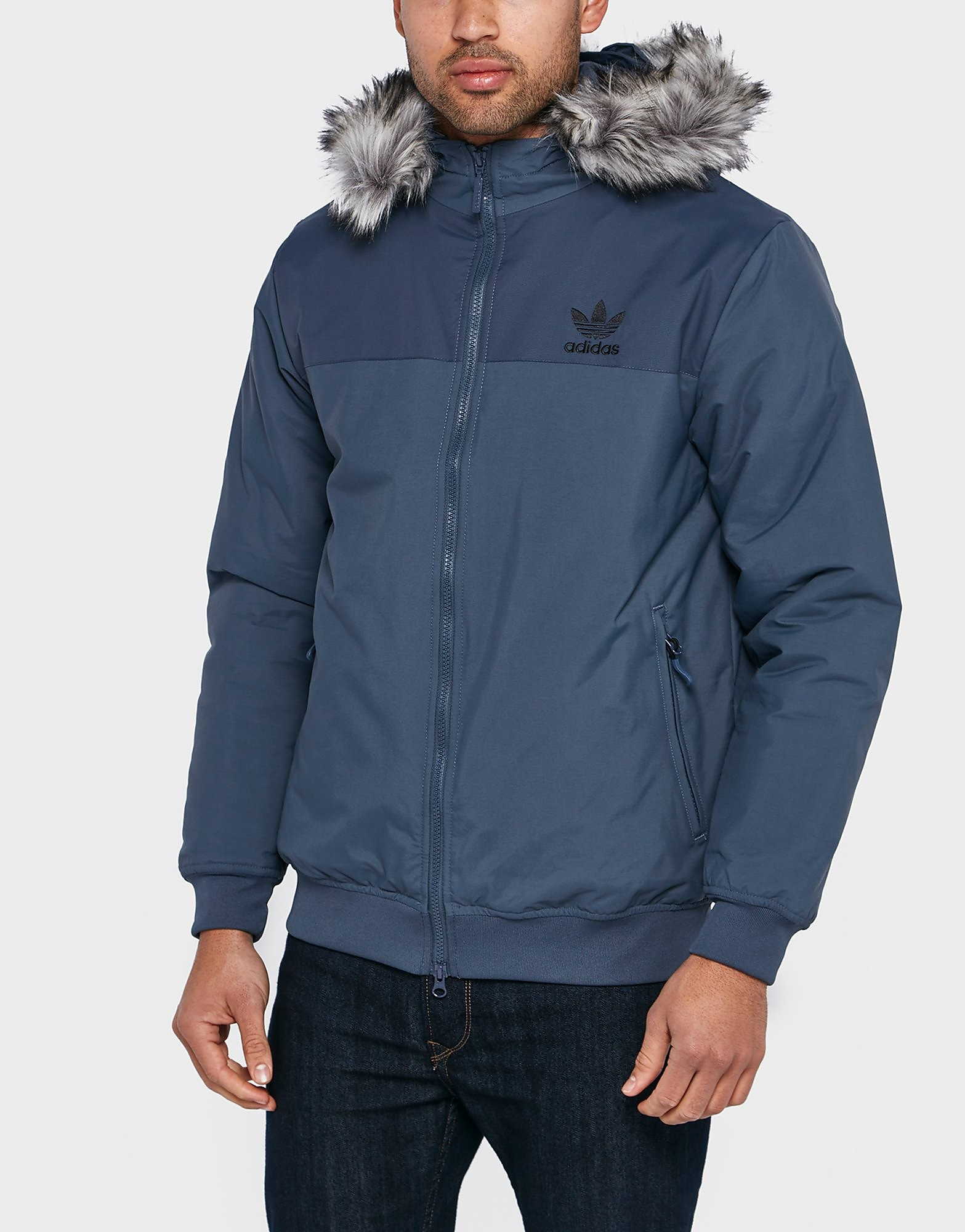 adidas Originals Trefoil Fur Parka