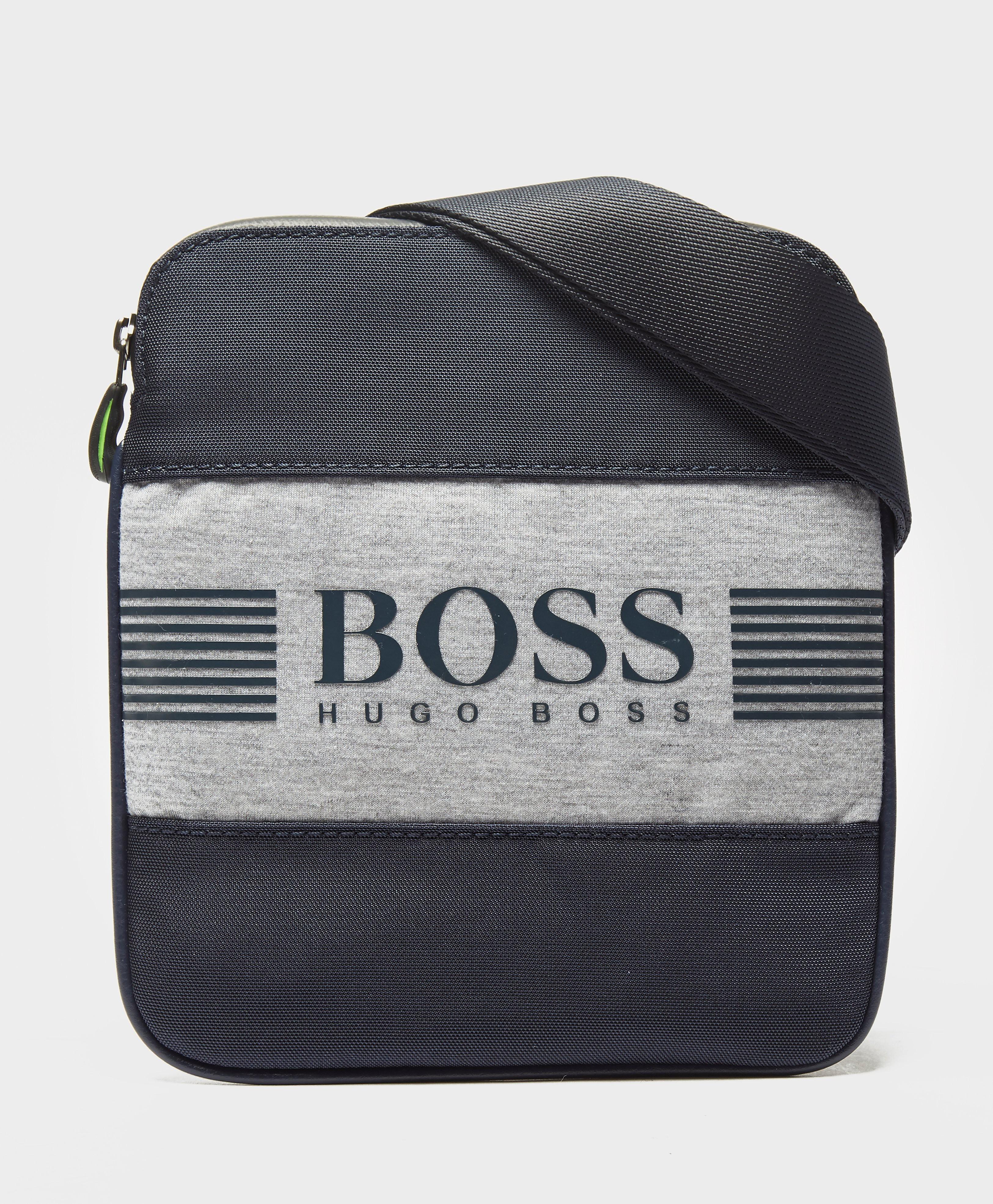 BOSS Green Pixel Small Item Bag