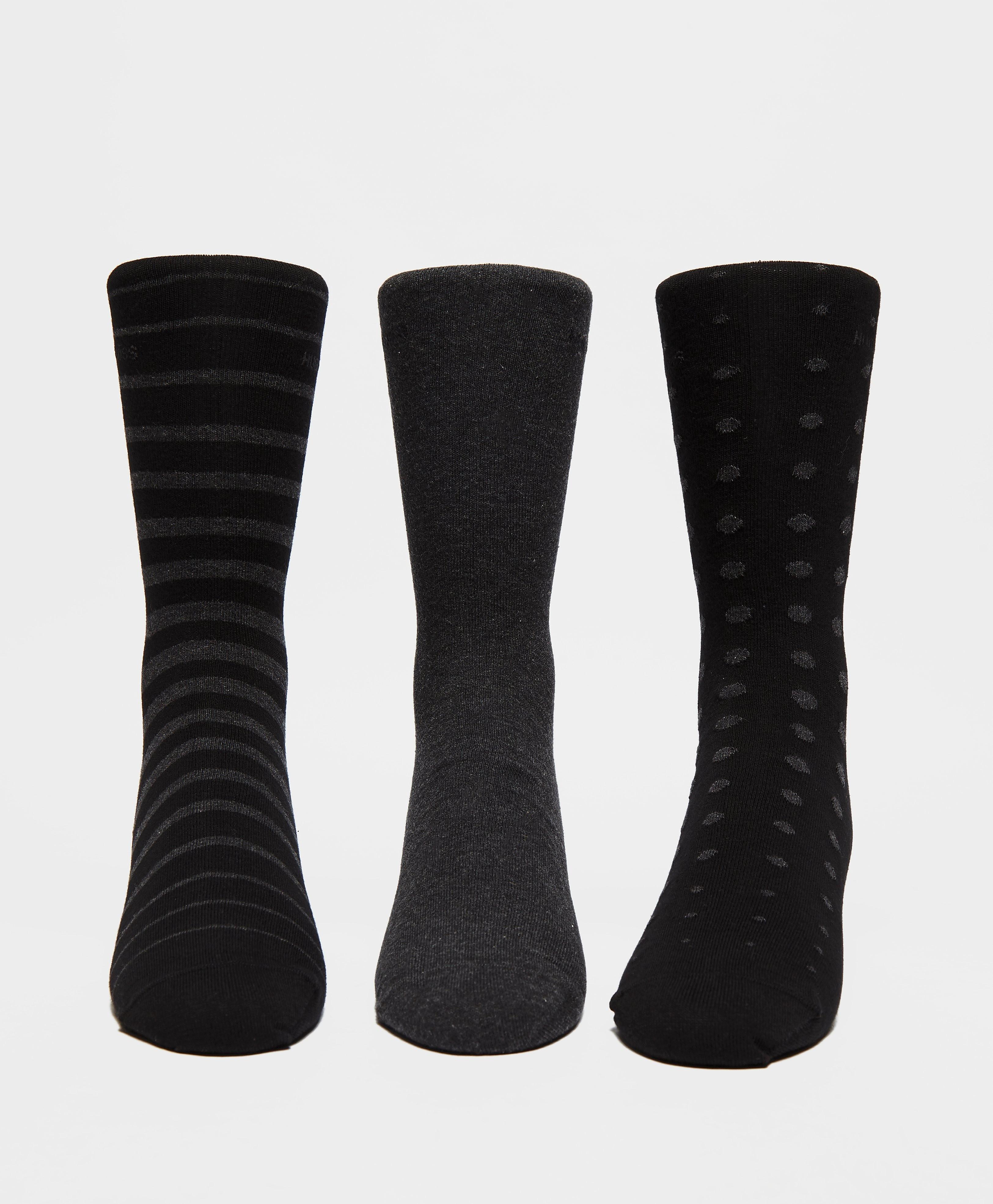 BOSS 3 Pack Socks