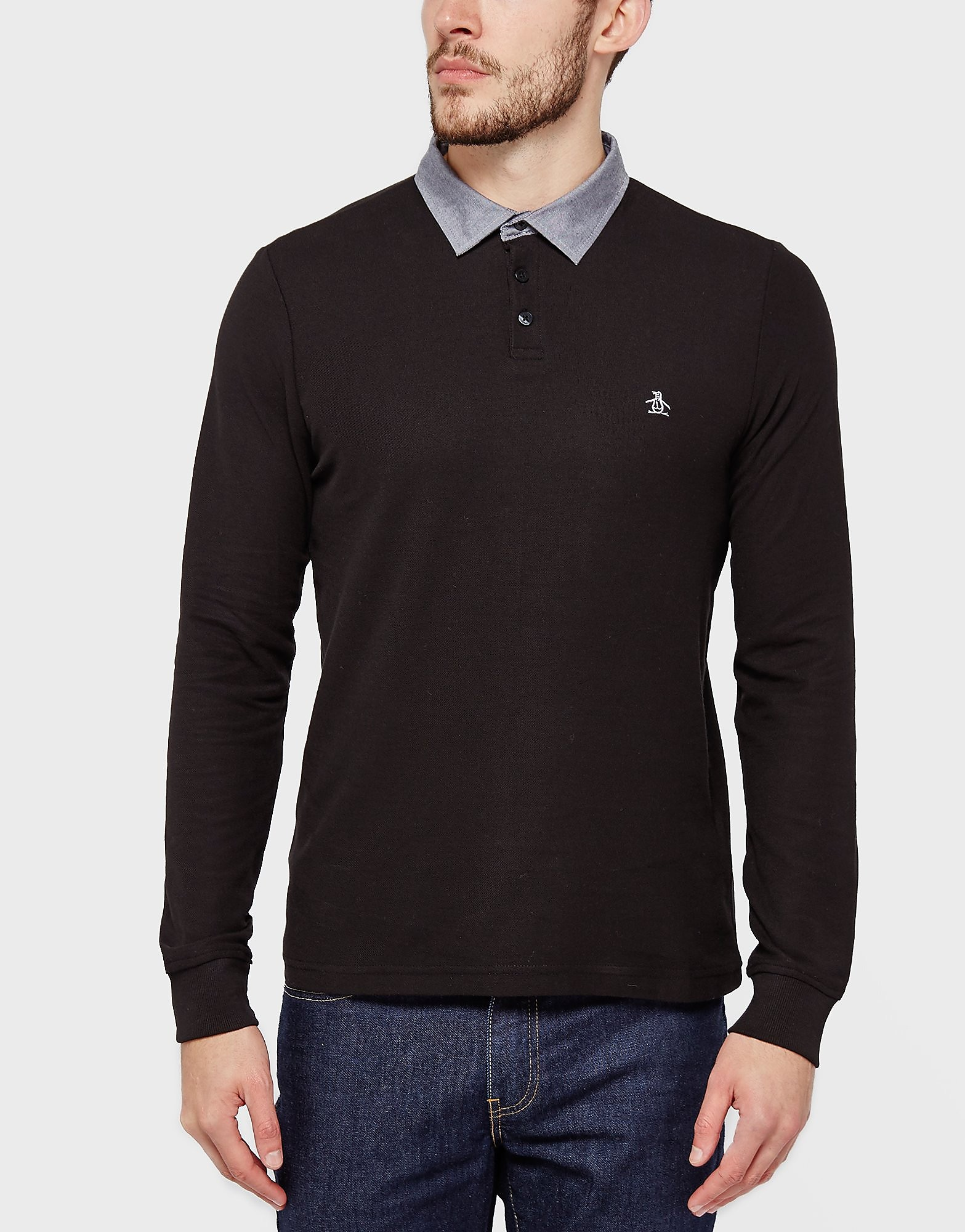 Original Penguin Oxford Collar Polo Shirt