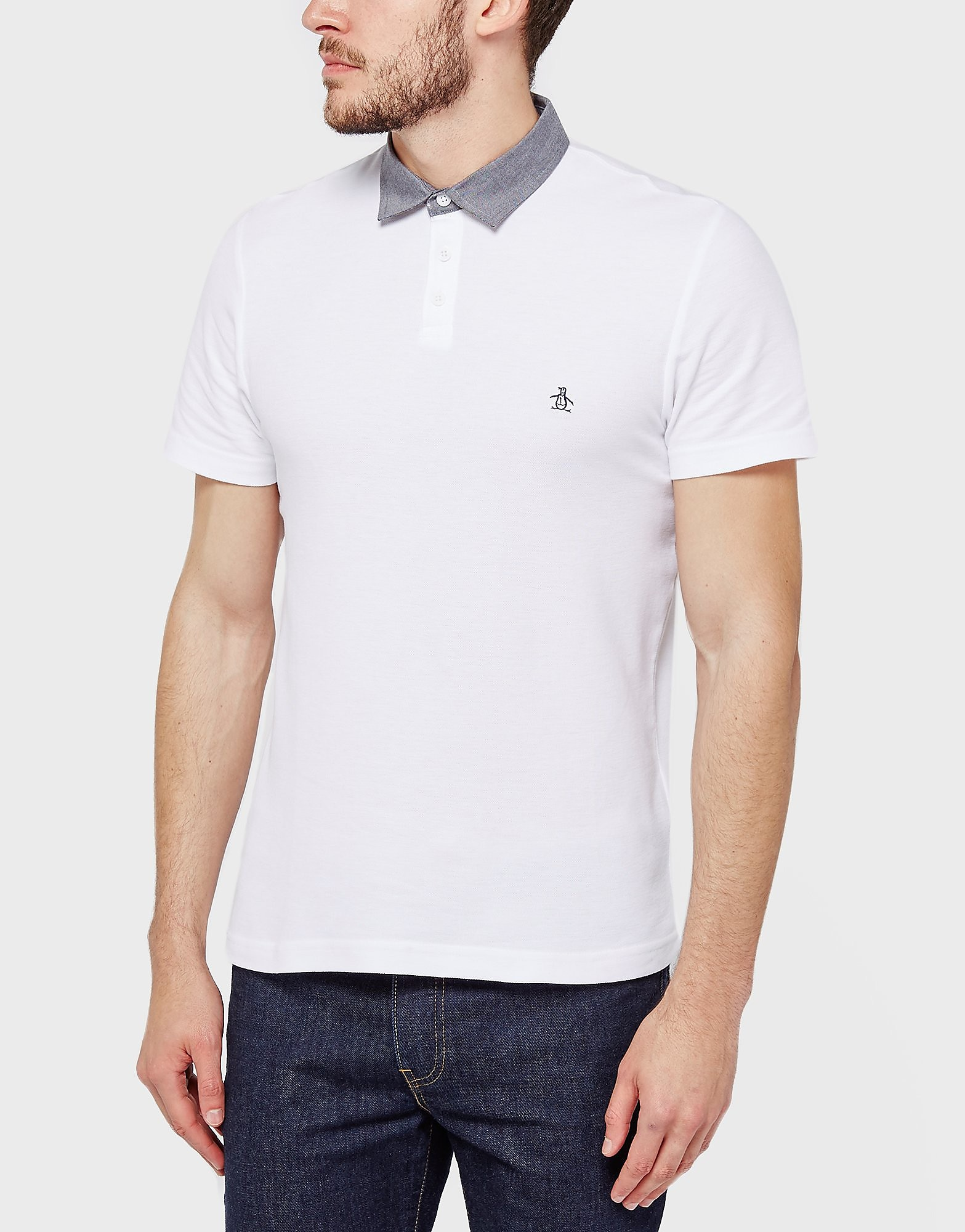 Original Penguin Oxford Collar