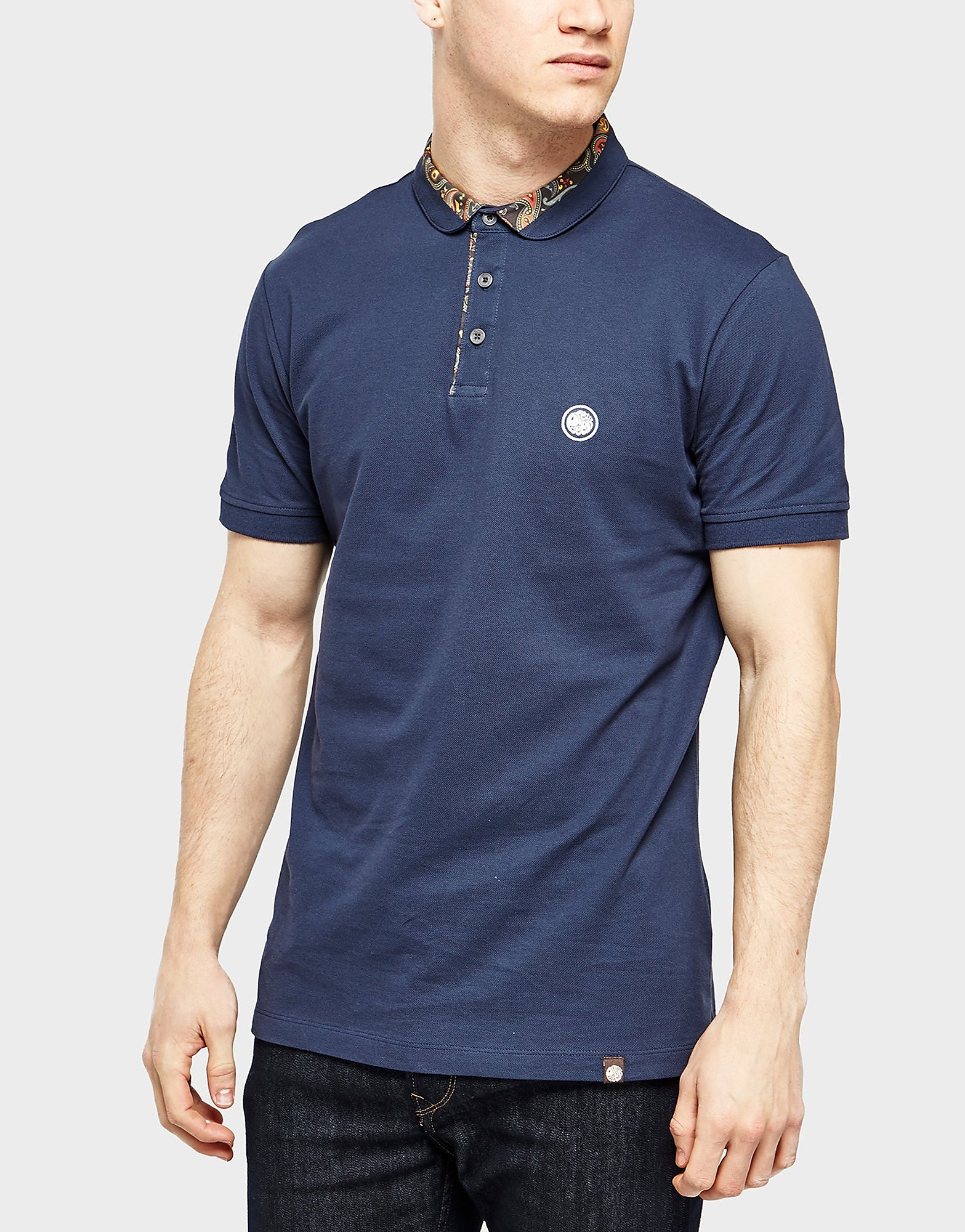 Pretty Green Paisley Carver Polo Shirt