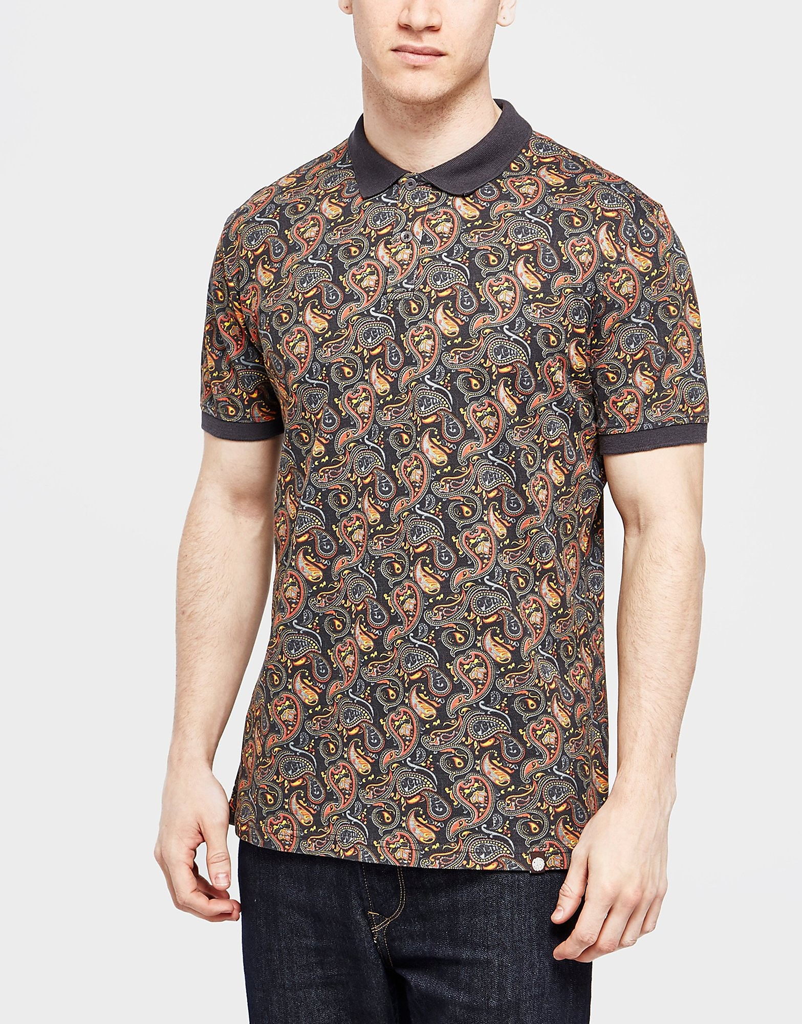 Pretty Green Paisley Polo Shirt