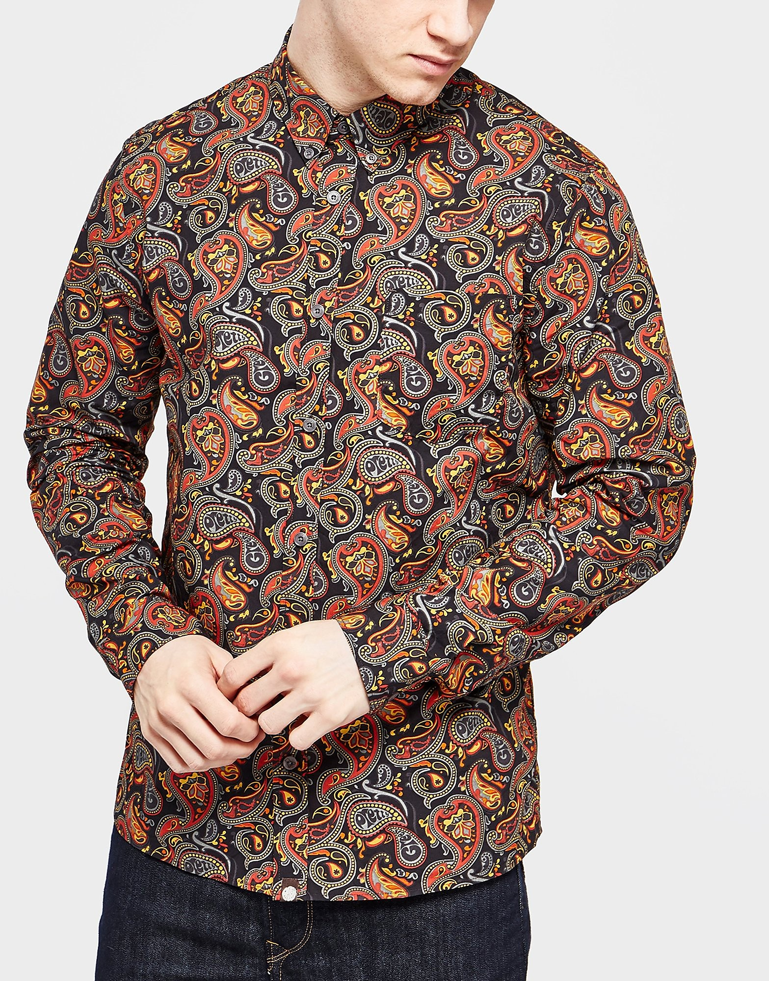 Pretty Green Gretton Paisley Shirt
