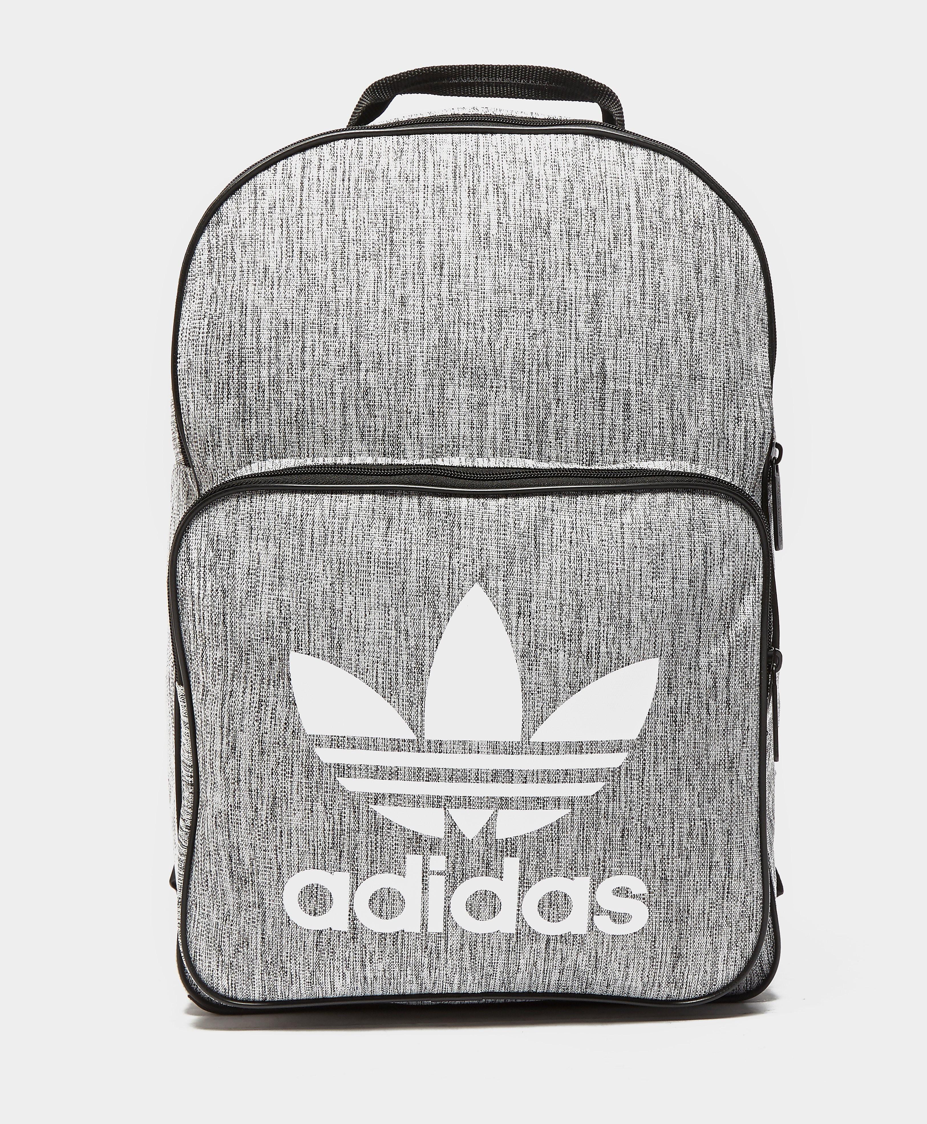 adidas Originals Classic Melange Backpack  Grey Grey