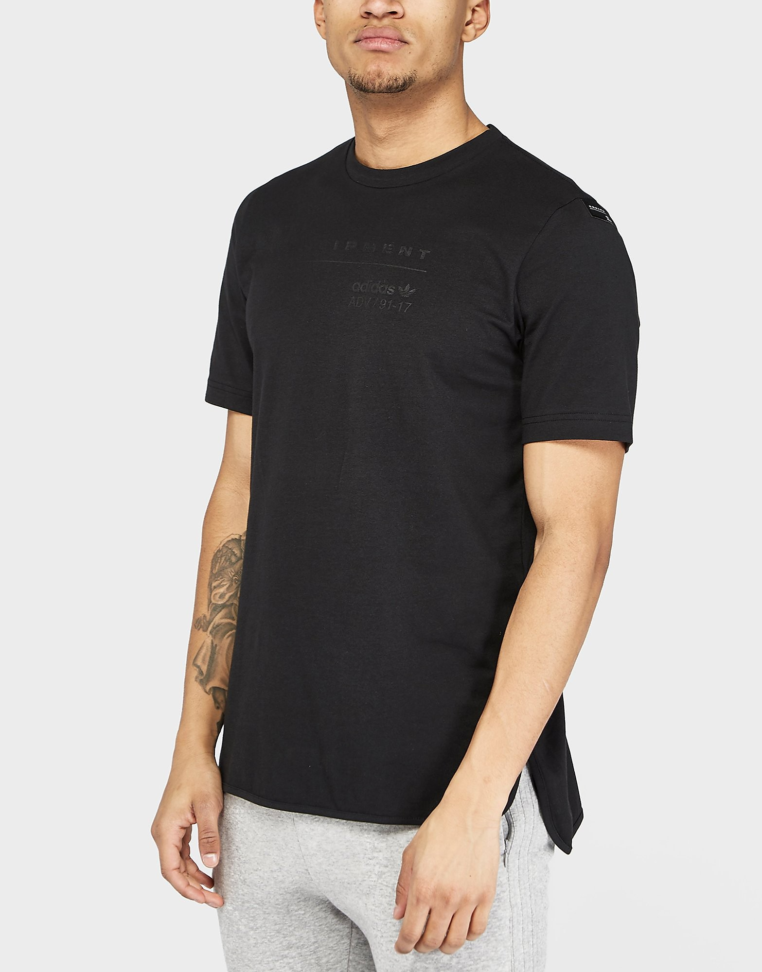 adidas Originals Equipment Logo Short Sleeve T-Shirt
