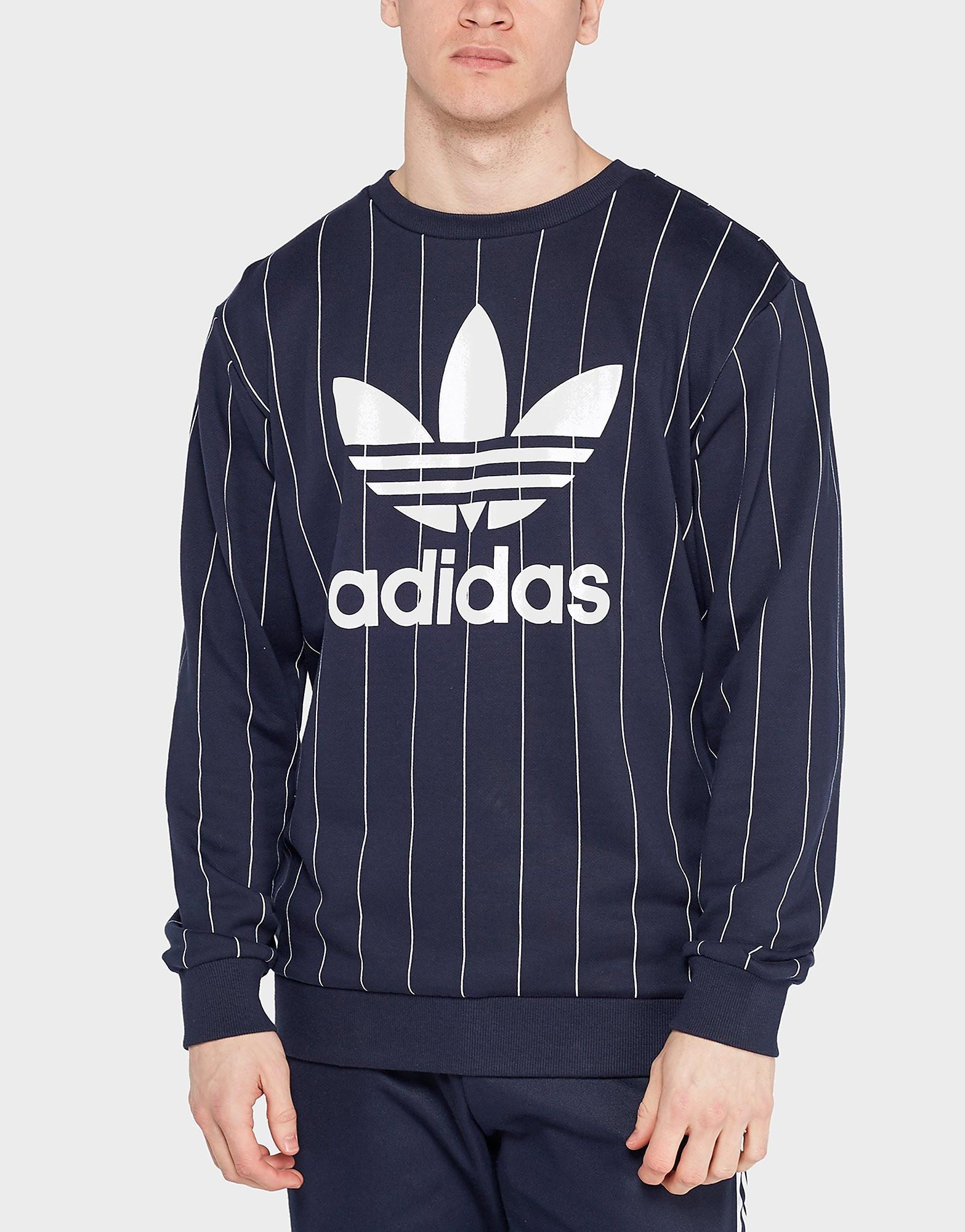 adidas Originals Tokyo Pinstripe Sweatshirt