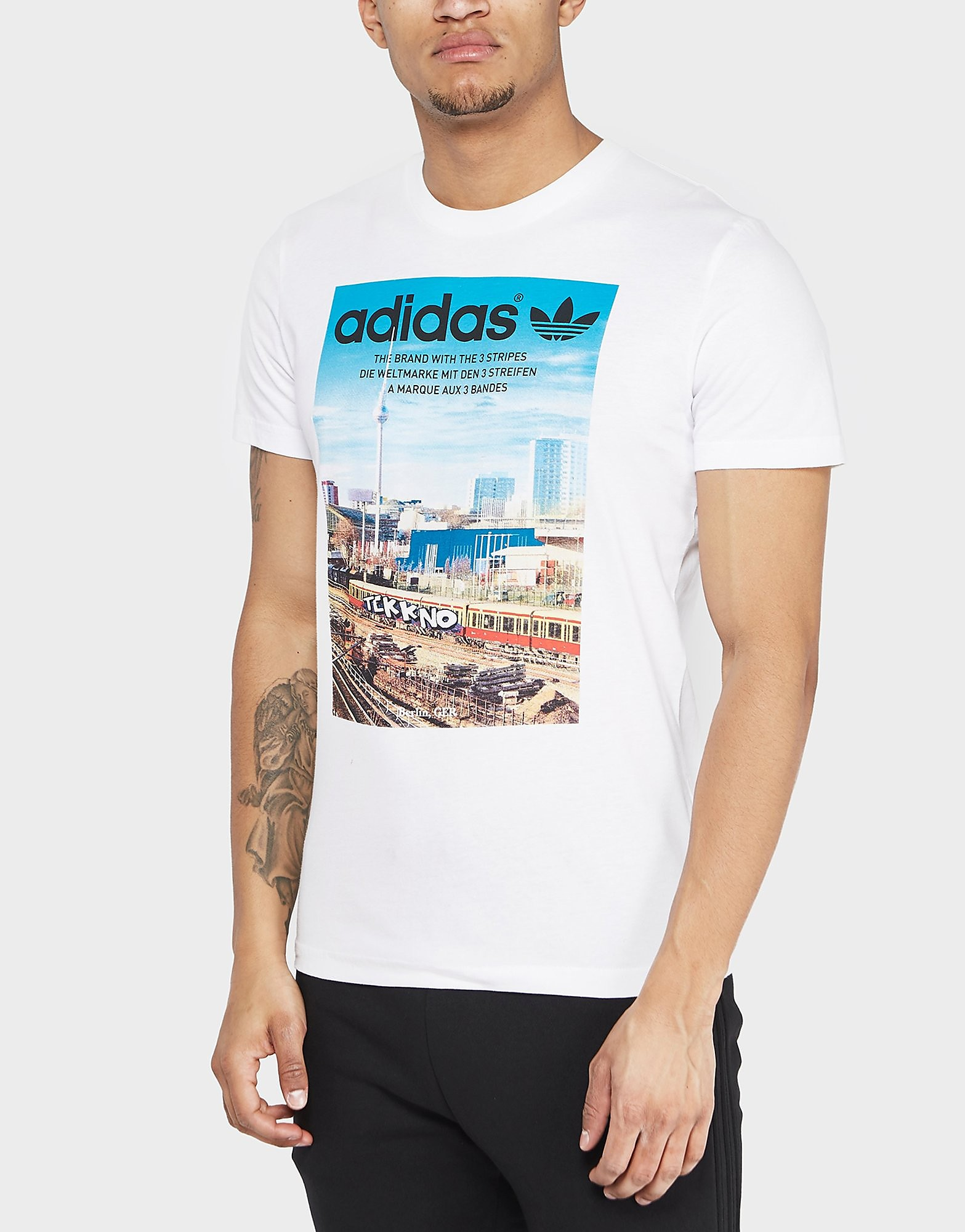 adidas Originals Berlin City Short Sleeve T-Shirt