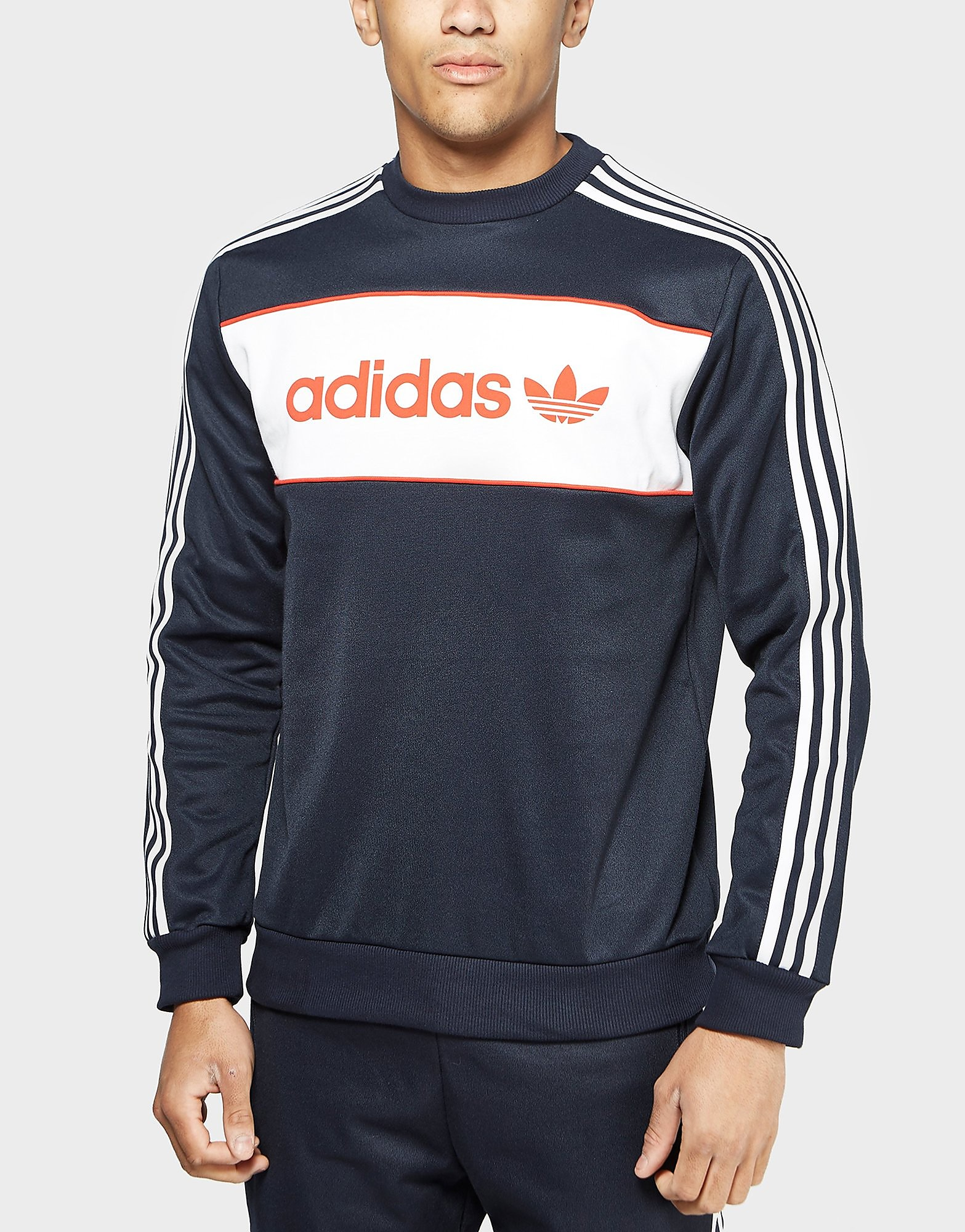 adidas Originals Block Crew Sweatshirt