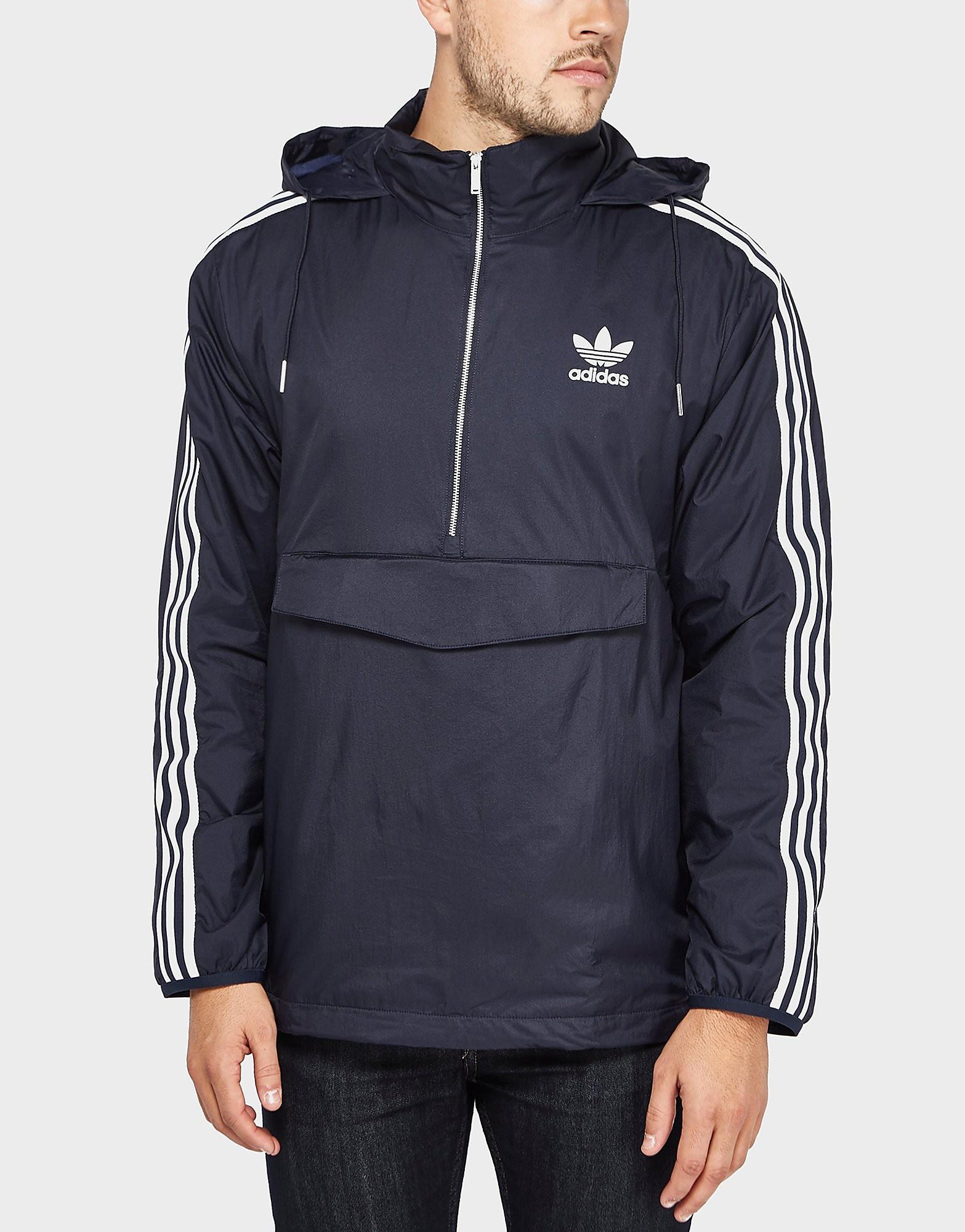 adidas Originals London Half-Zip Overhead Jacket