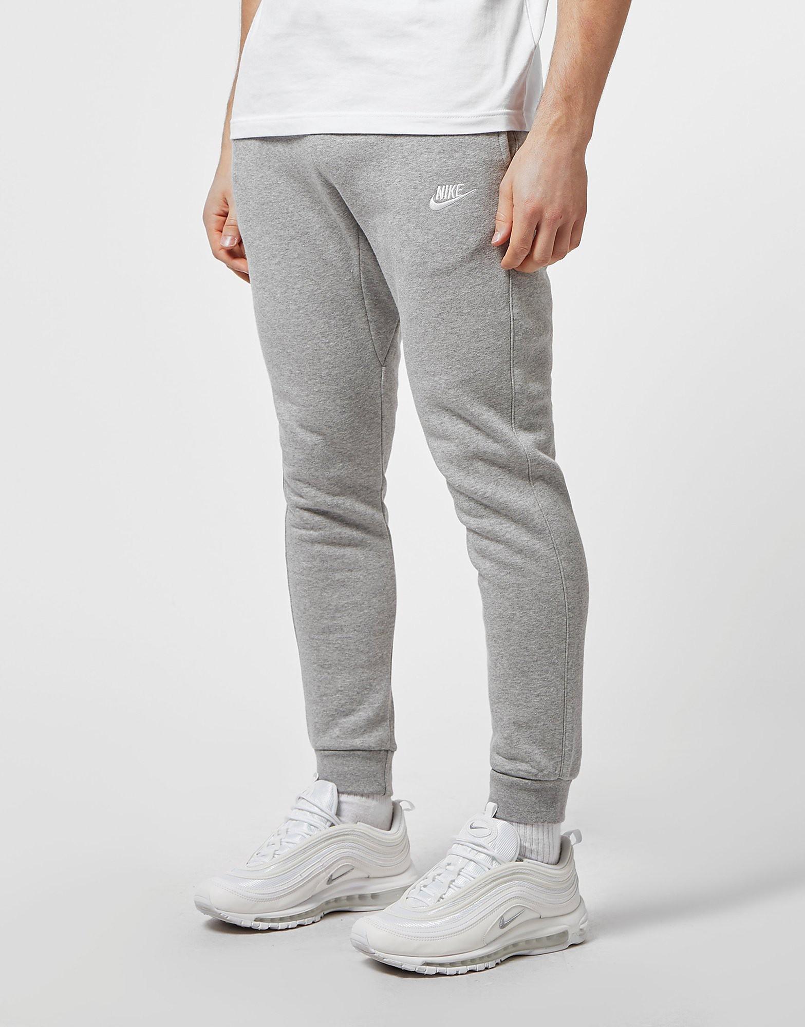 68d4d51bac30e Nike Foundation Cuffed Fleece Joggers - Grey, Grey - £40.00 - Bullring &  Grand Central