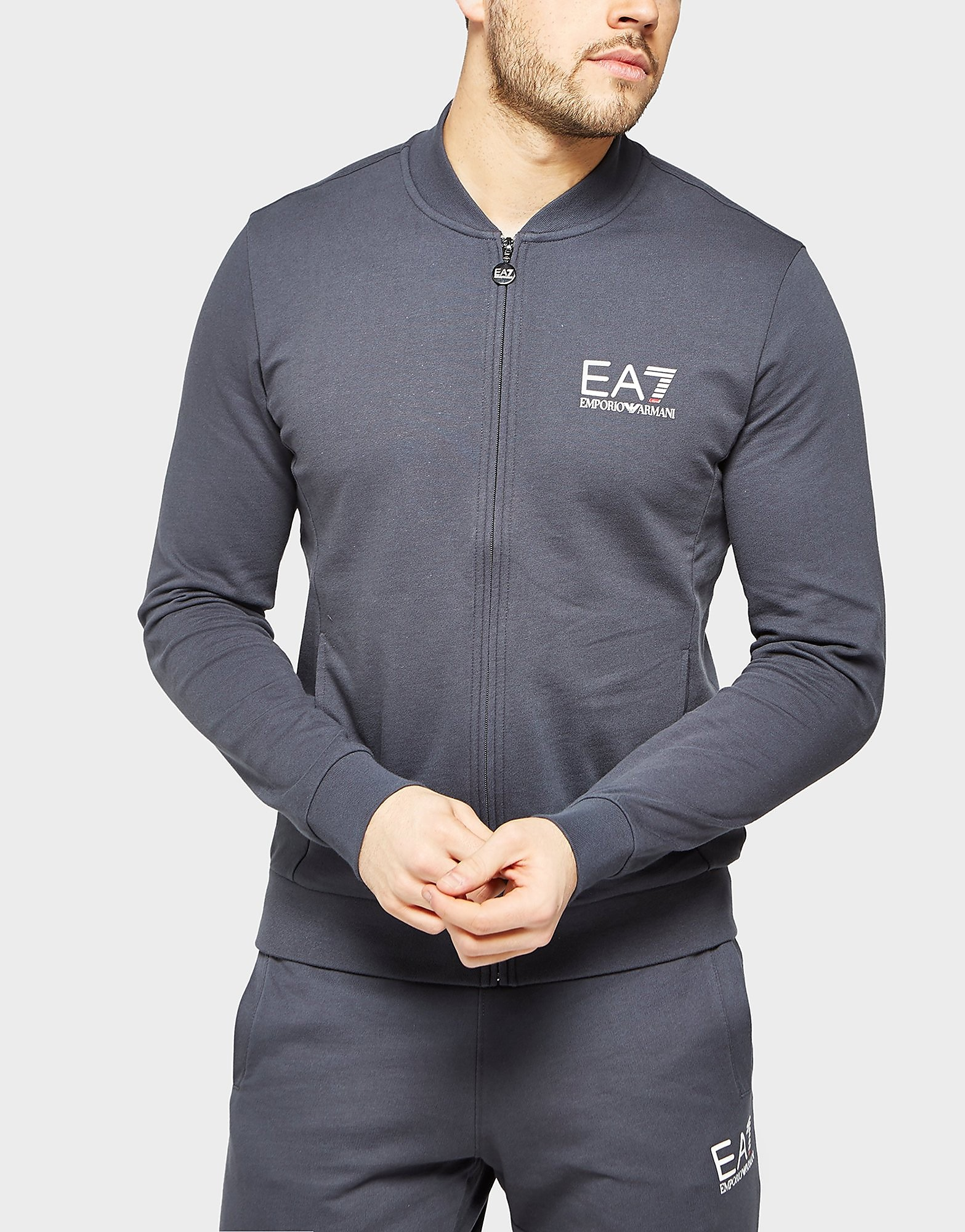 Emporio Armani EA7 Core Full Zip Bomber Track Top