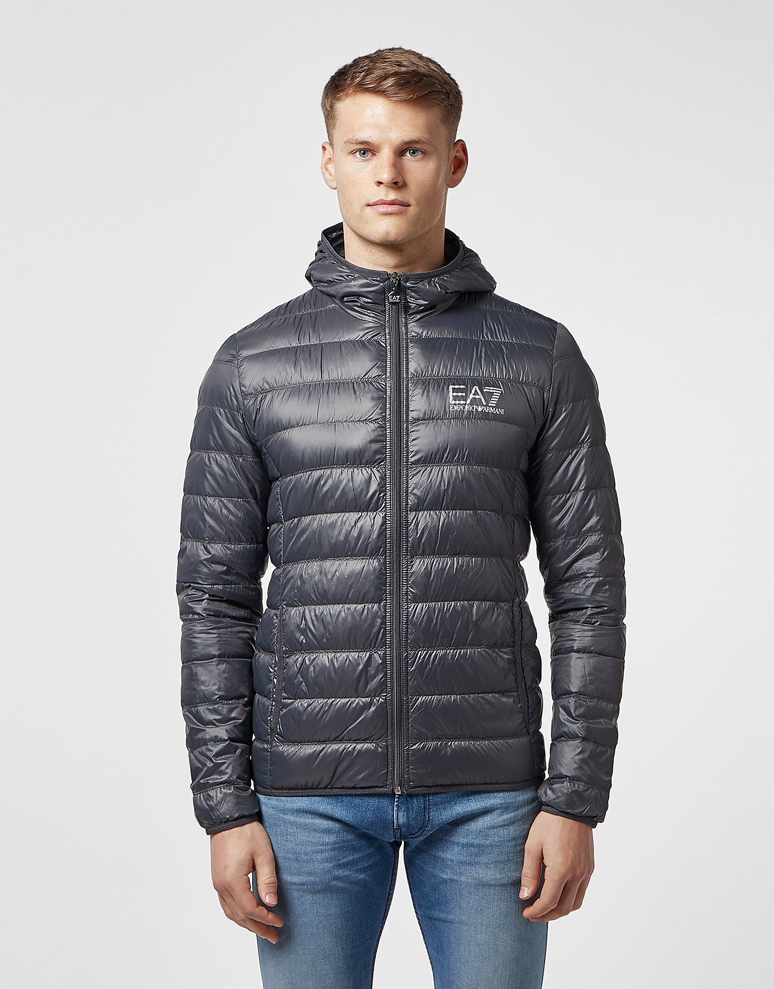 eaecfd777e6f Emporio Armani EA7 Core Bubble Jacket - Navy blue