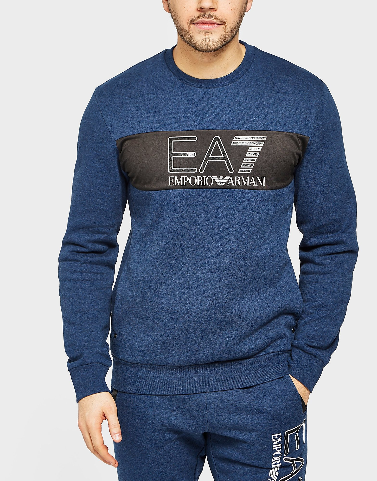 Emporio Armani EA7 Crew Sweatshirt  Navy Navy