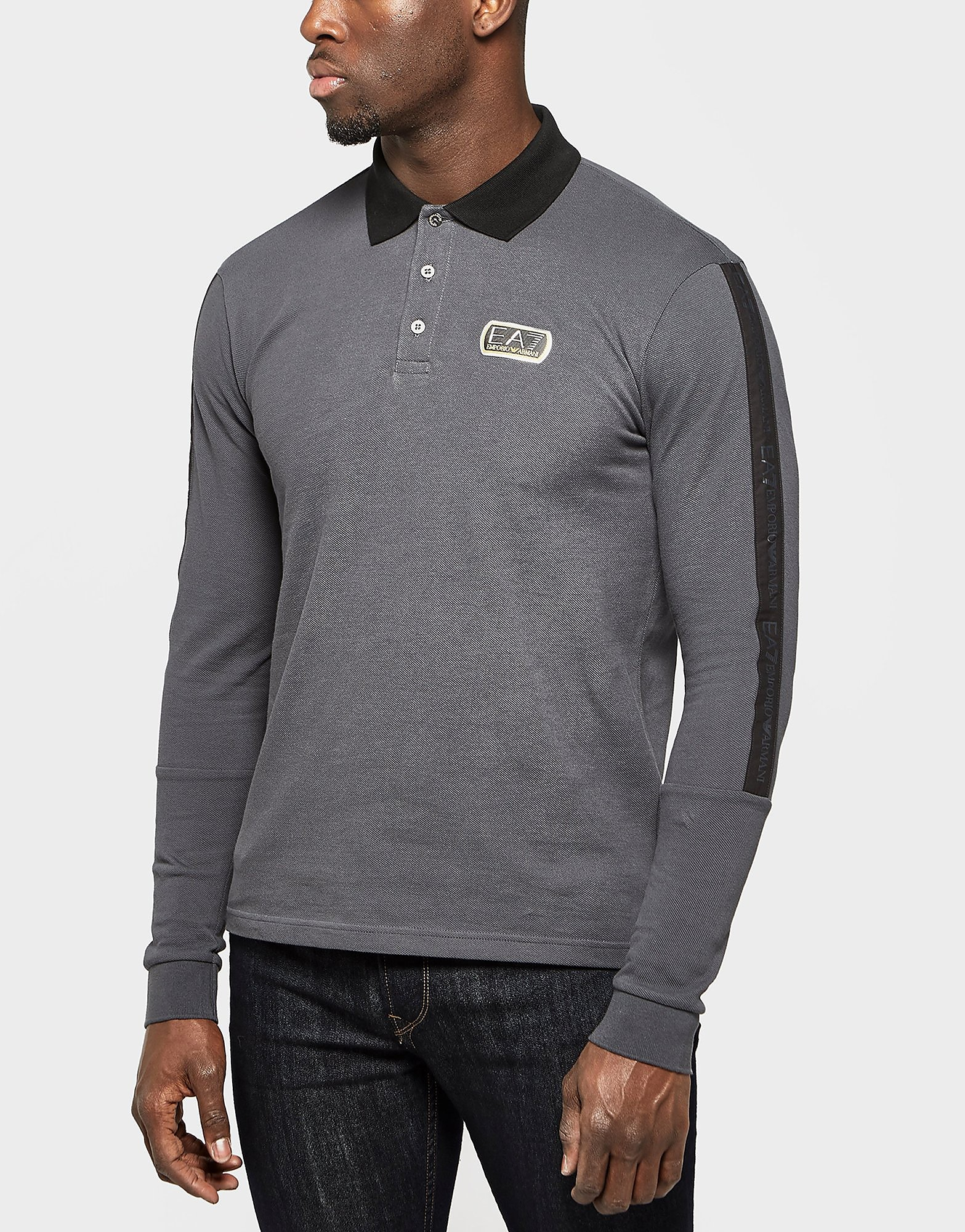 Emporio Armani EA7 Long Sleeve Polo Shirt - Exclusive