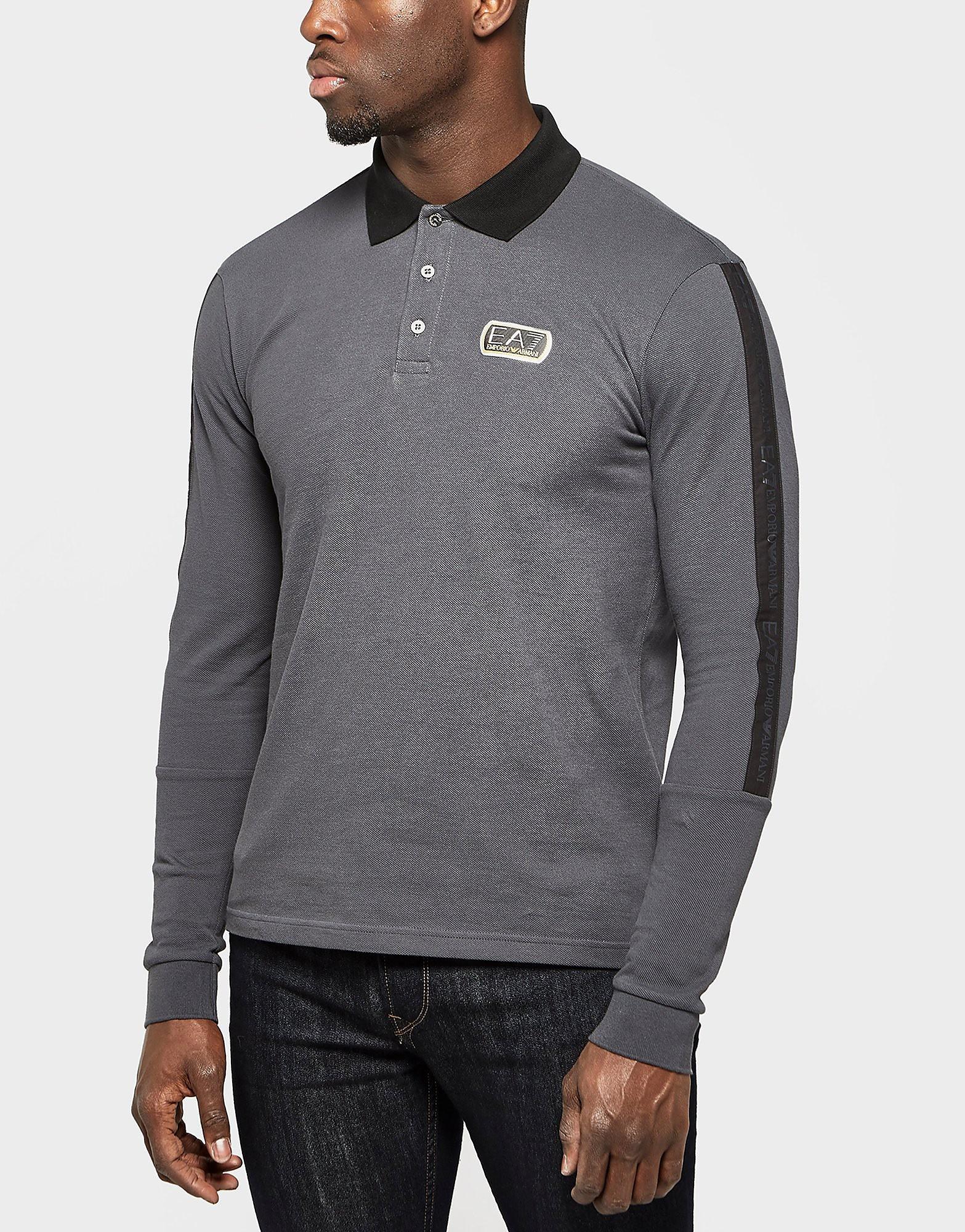 Emporio Armani EA7 Long Sleeve Polo Shirt - Exclusive