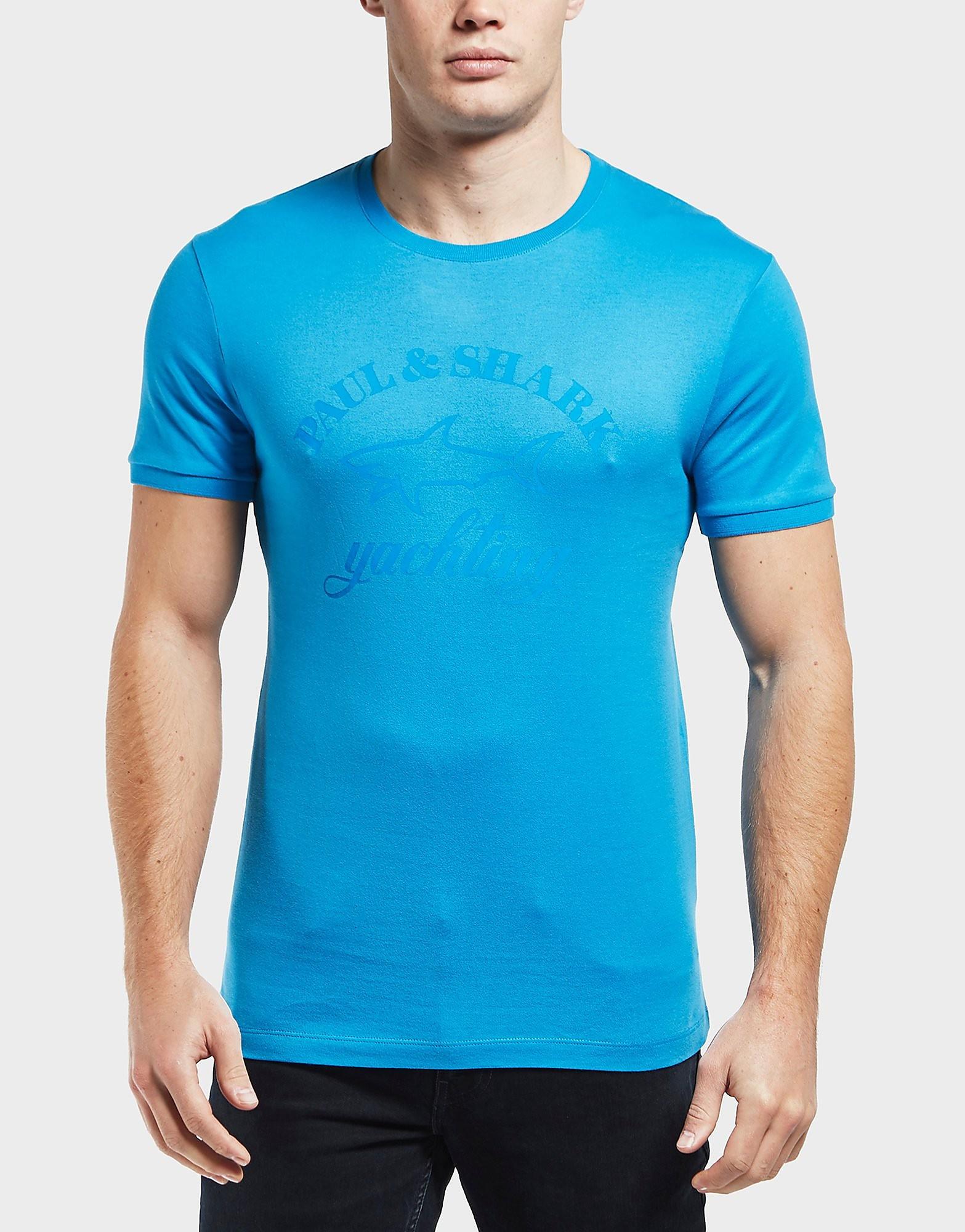 Paul and Shark Tonal Print Short Sleeve T-Shirt