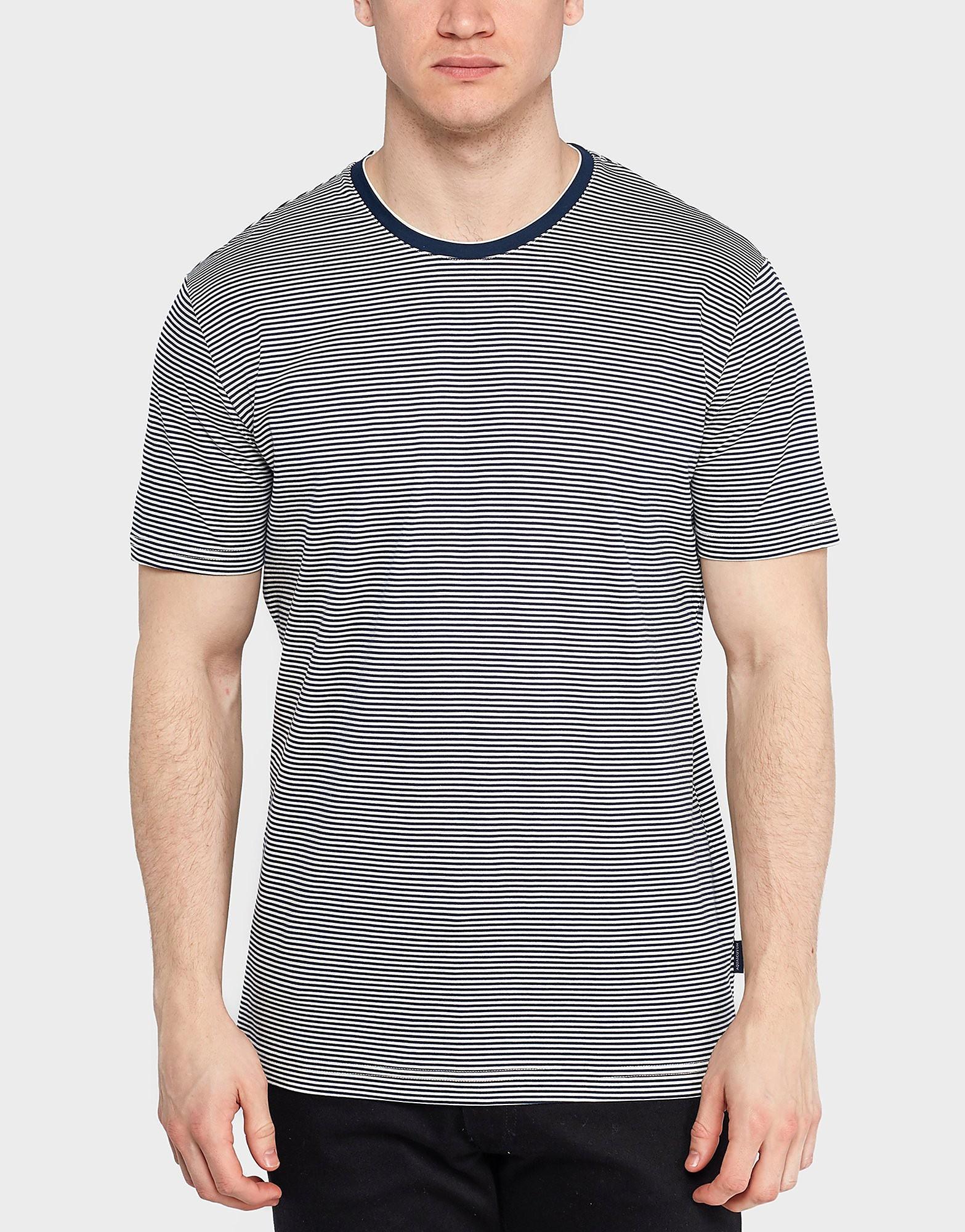 Aquascutum Tyson Stripe T-Shirt