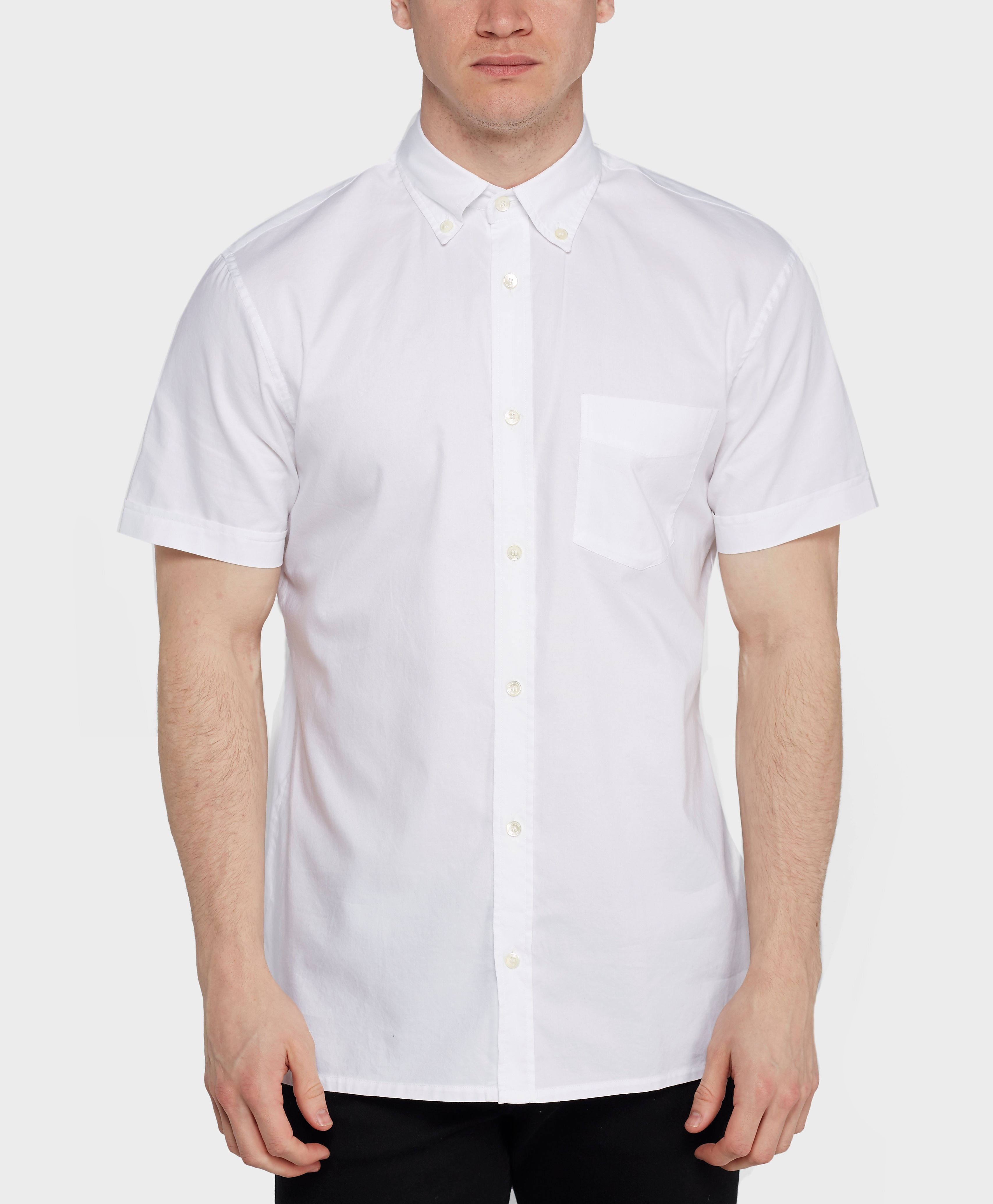 Aquascutum Ashford Short Sleeve Oxford Shirt