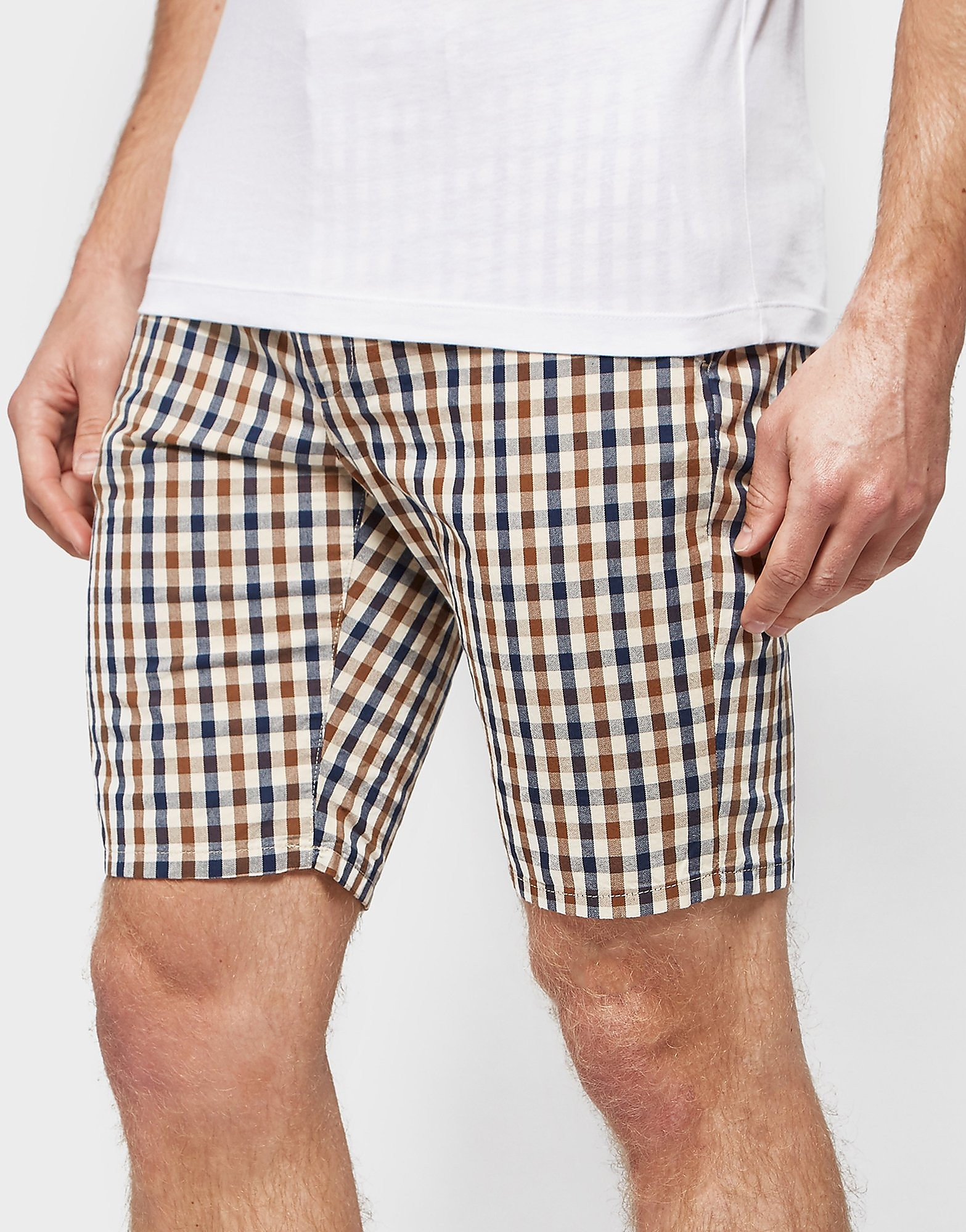 Aquascutum Club Check Shorts