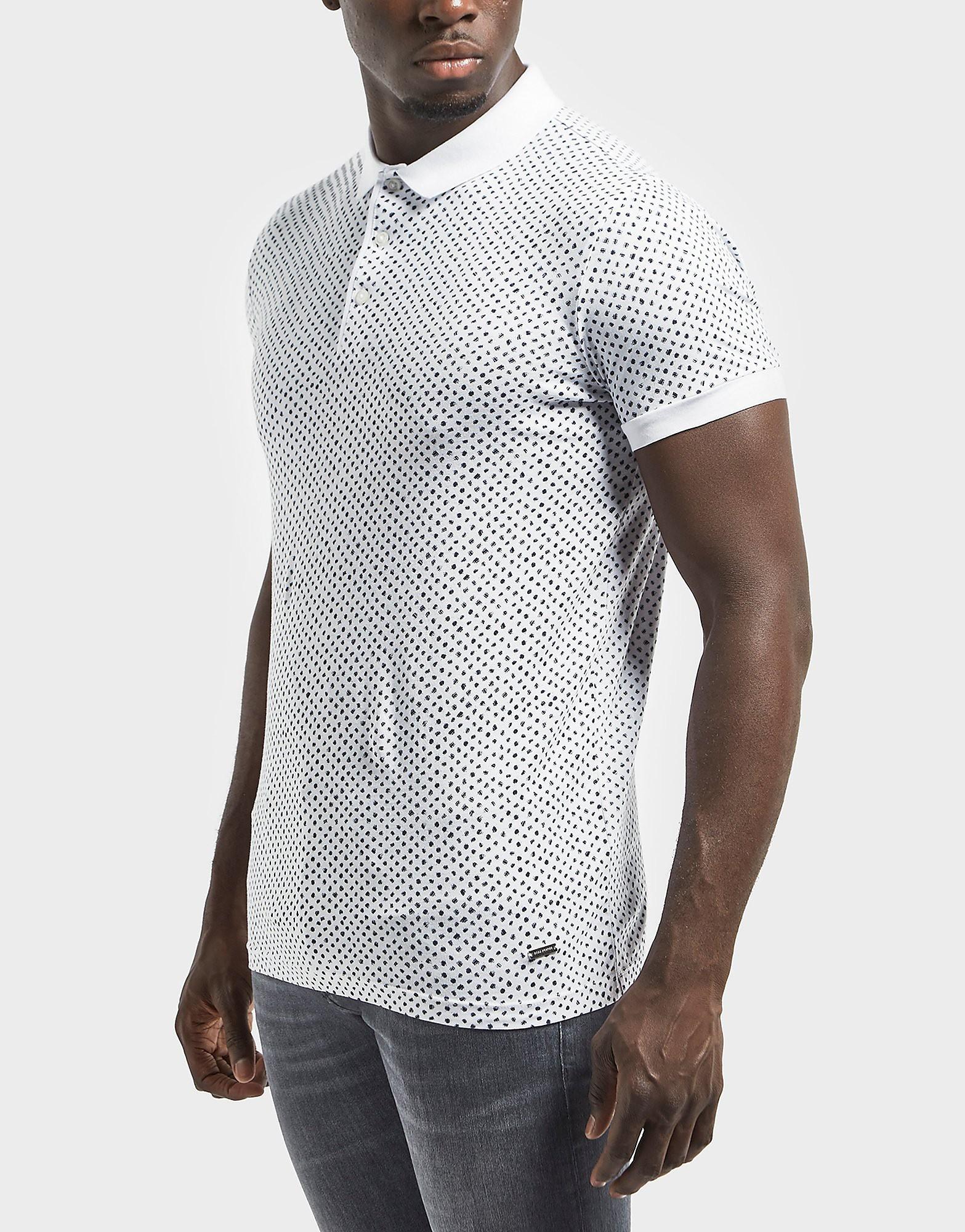 BOSS Orange Palex AO Print Polo Shirt