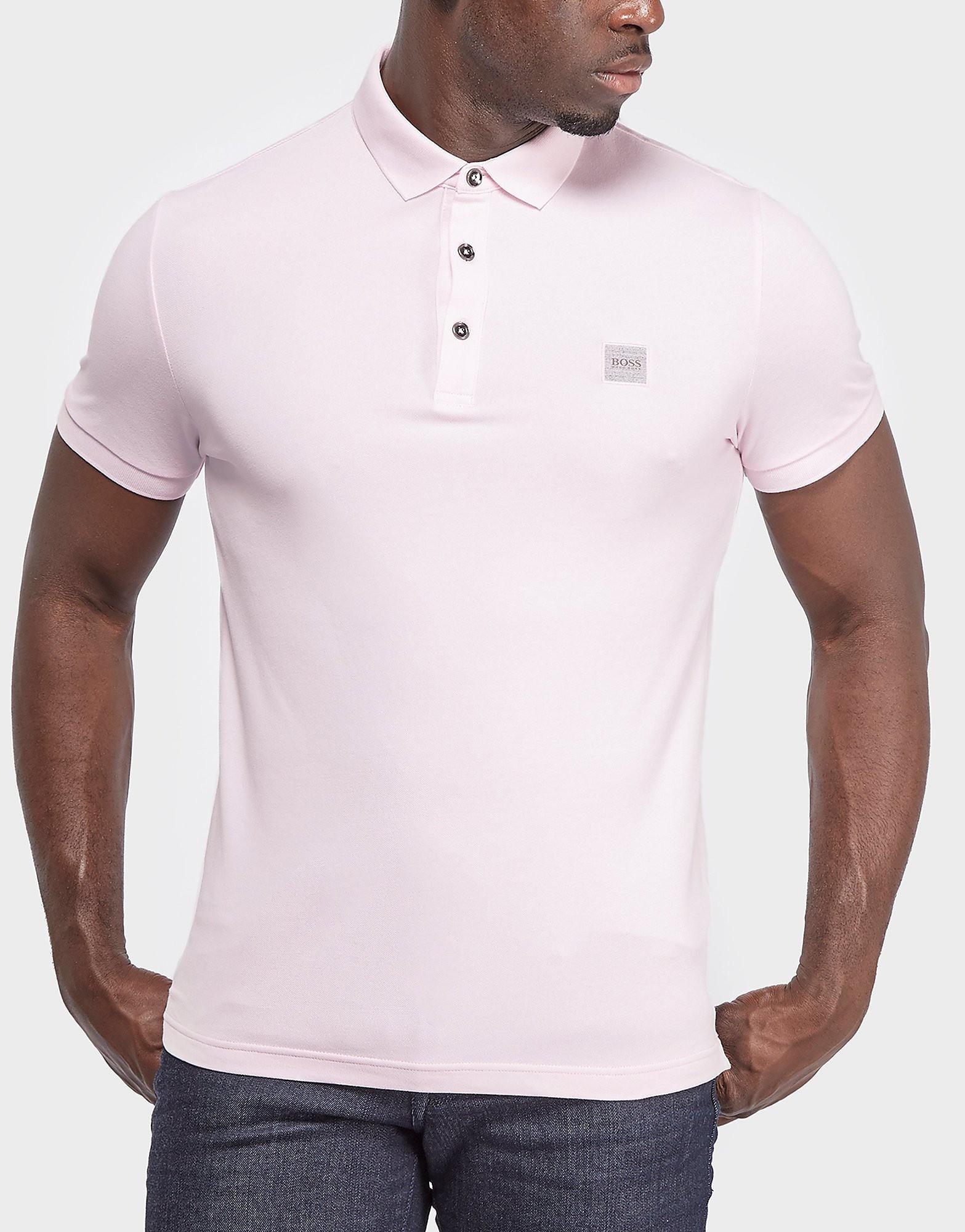 BOSS Orange Pavlik Polo Shirt  Pink Pink