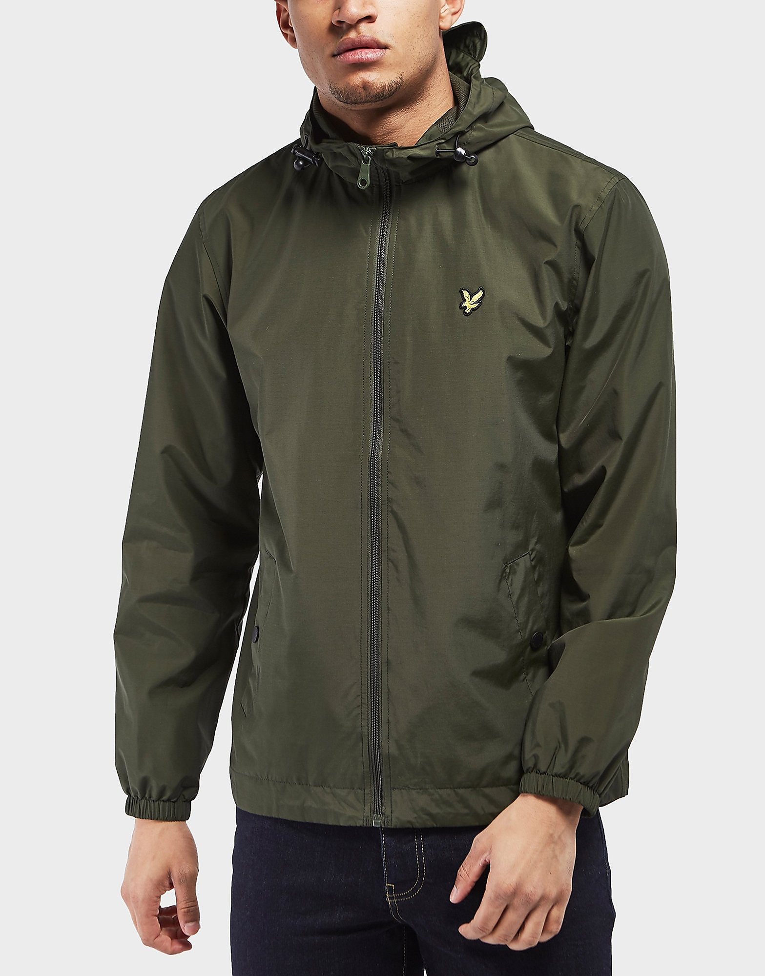 Lyle & Scott Full-Zip Hooded Lightweight Jacket - Exclusive