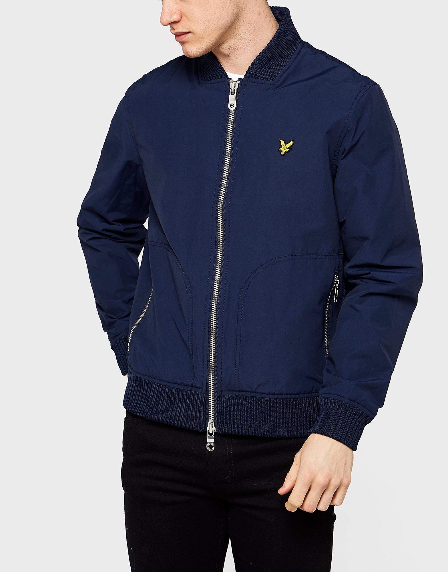 Lyle & Scott Nylon Bomber Jacket