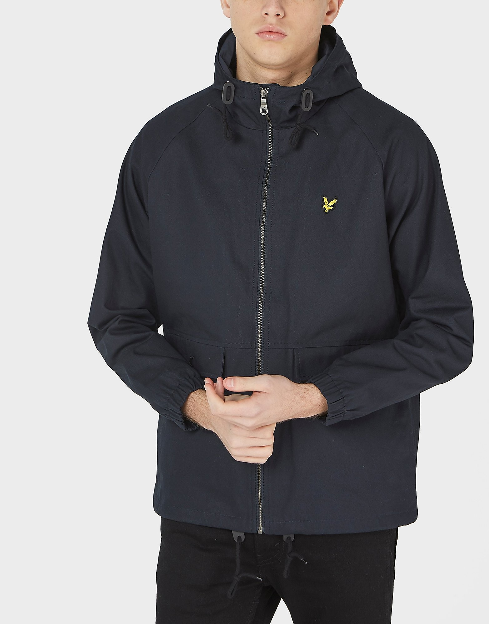 Lyle & Scott Full-Zip Hooded Lightweight Jacket