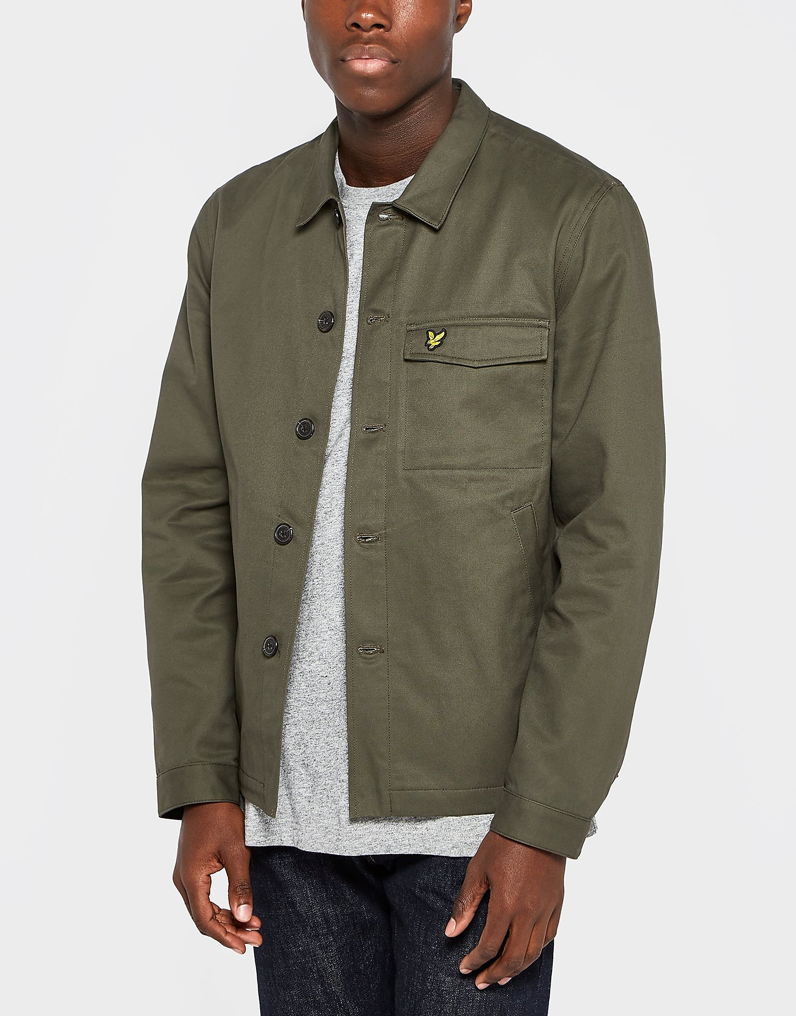 Lyle & Scott Button Through Lightweight Jacket