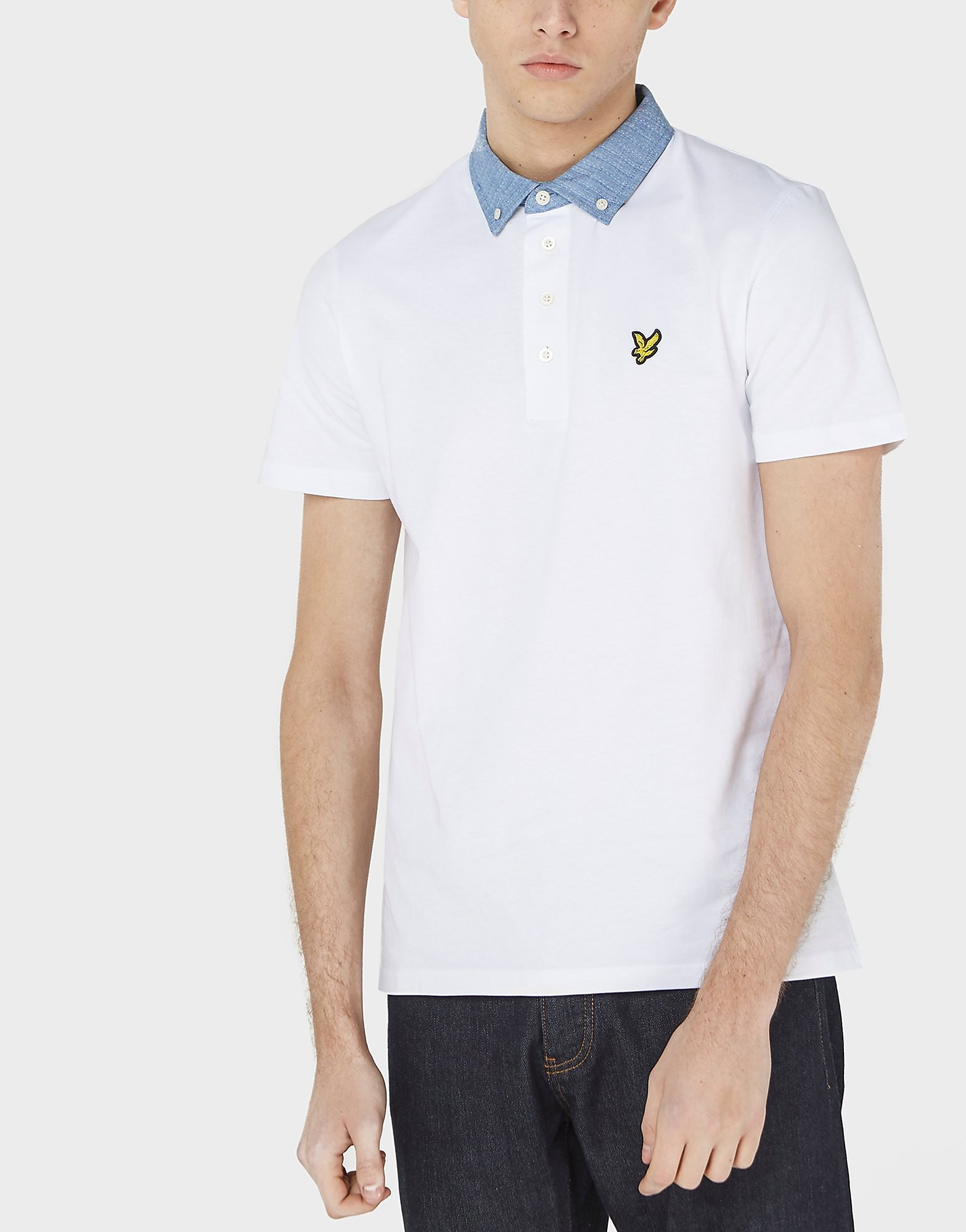 Lyle & Scott Run Stitch Short Sleeve Polo Shirt