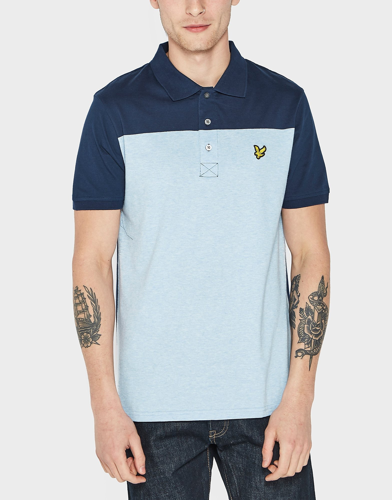 Lyle & Scott Yoke Short Sleeve Polo Shirt